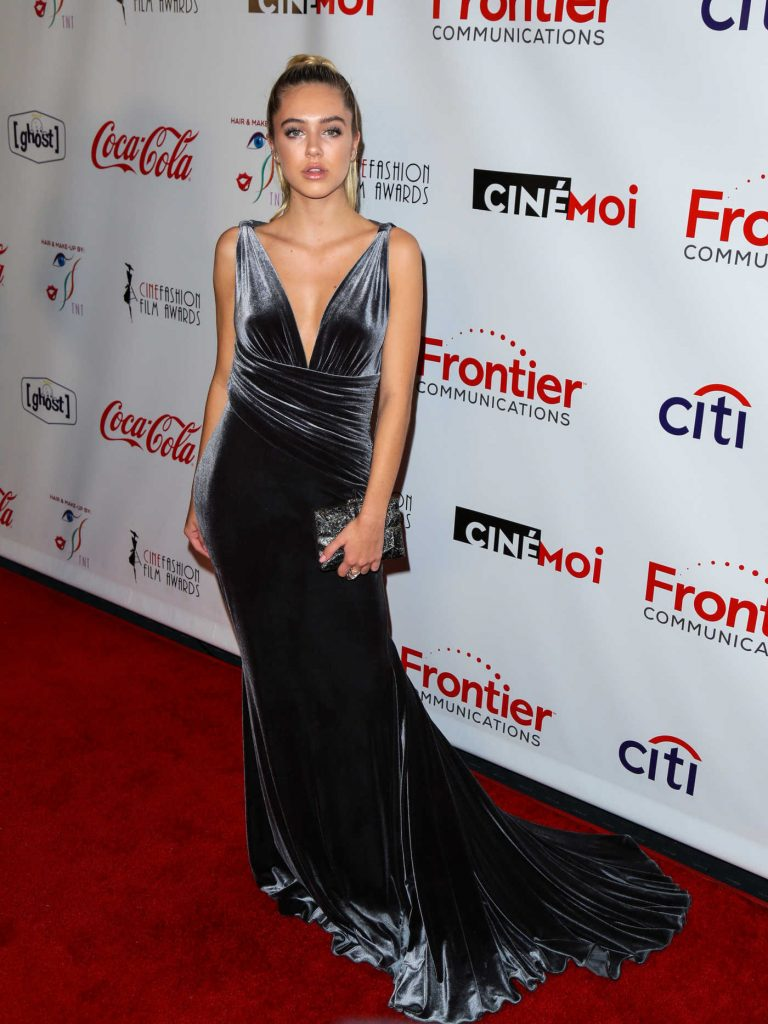 Delilah Hamlin at the 3rd Annual Cinefashion Film Awards at Saban Theatre in Beverly Hills 12/15/2016-1