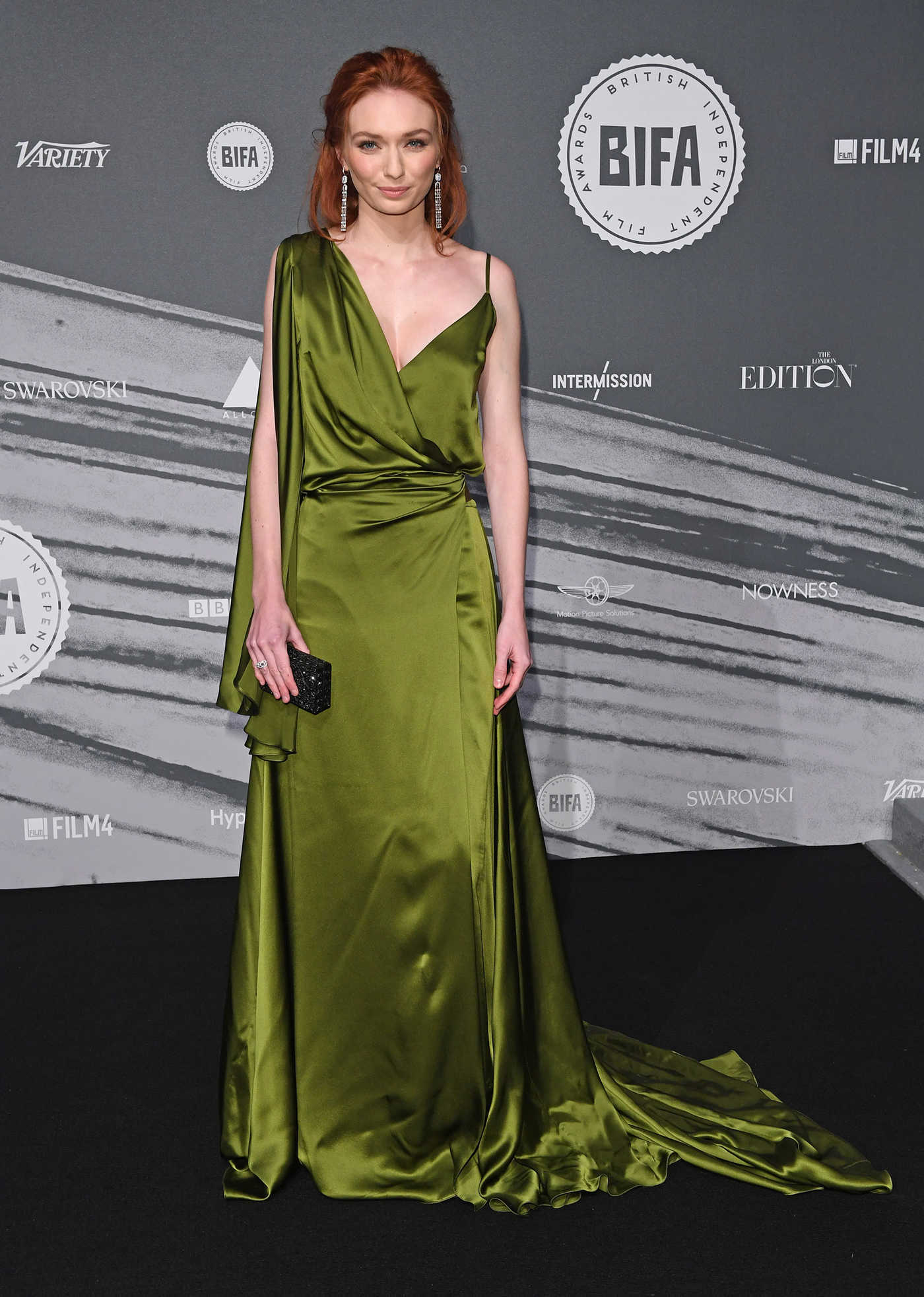 Eleanor Tomlinson at the British Independent Film Awards in London 12/04/2016