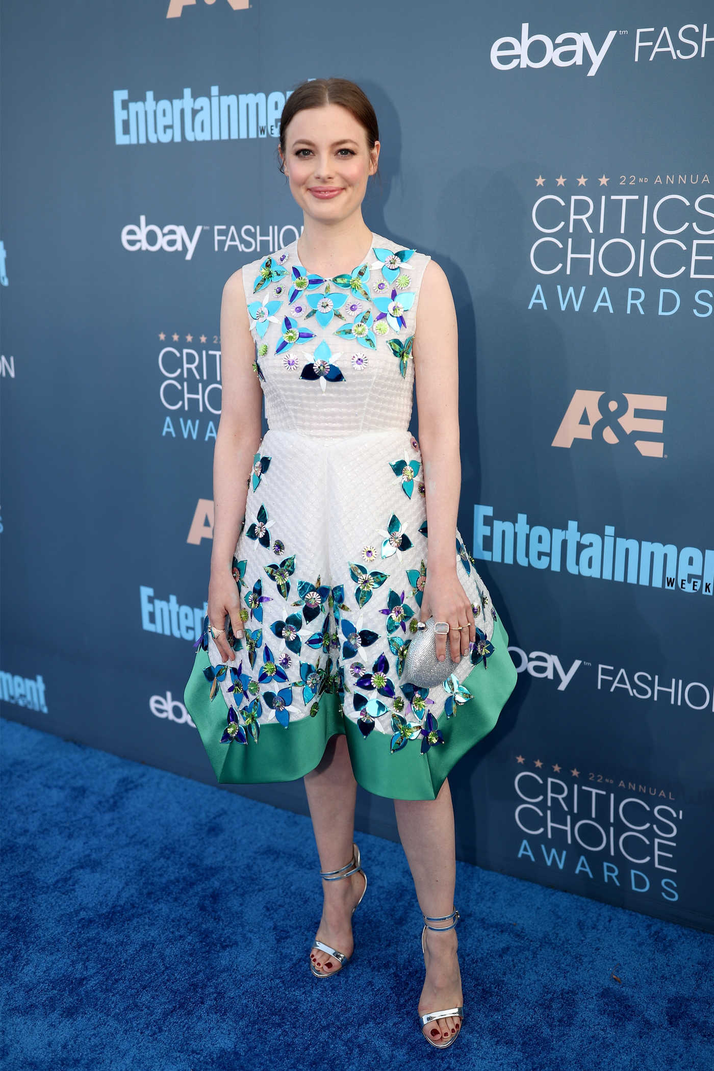Gillian Jacobs at the 22nd Annual Critics' Choice Awards in Santa Monica 12/11/2016