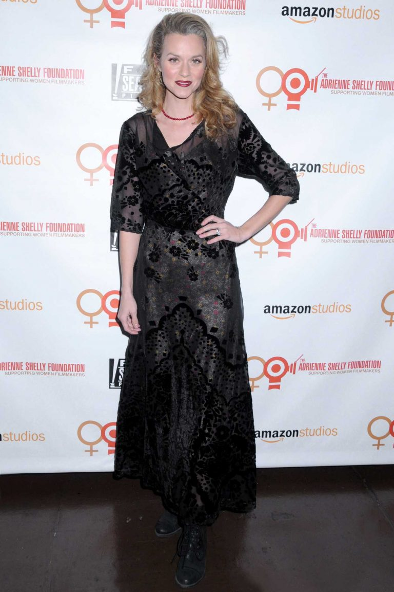 Hilarie Burton at the Adrienne Shelly Foundation 10th Anniversary Celebration in New York 12/05/2016-1