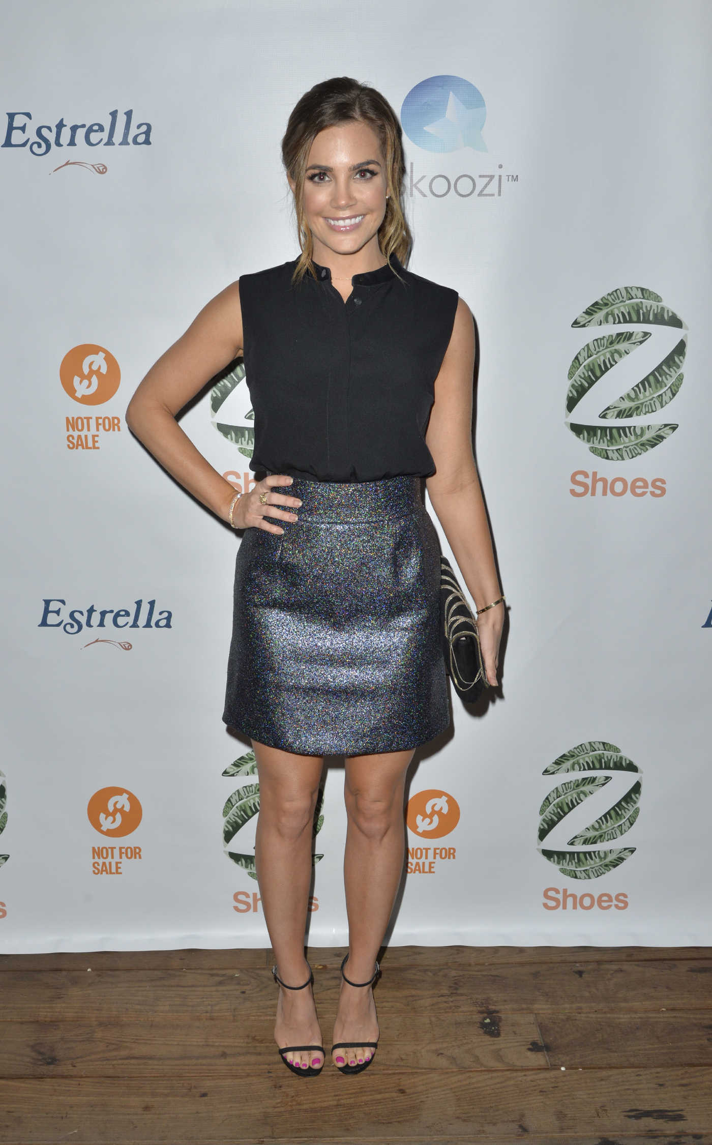 Jillian Murray at the Not for Sale x Z Shoes Benefit at Estrella in West Hollywood 12/09/2016