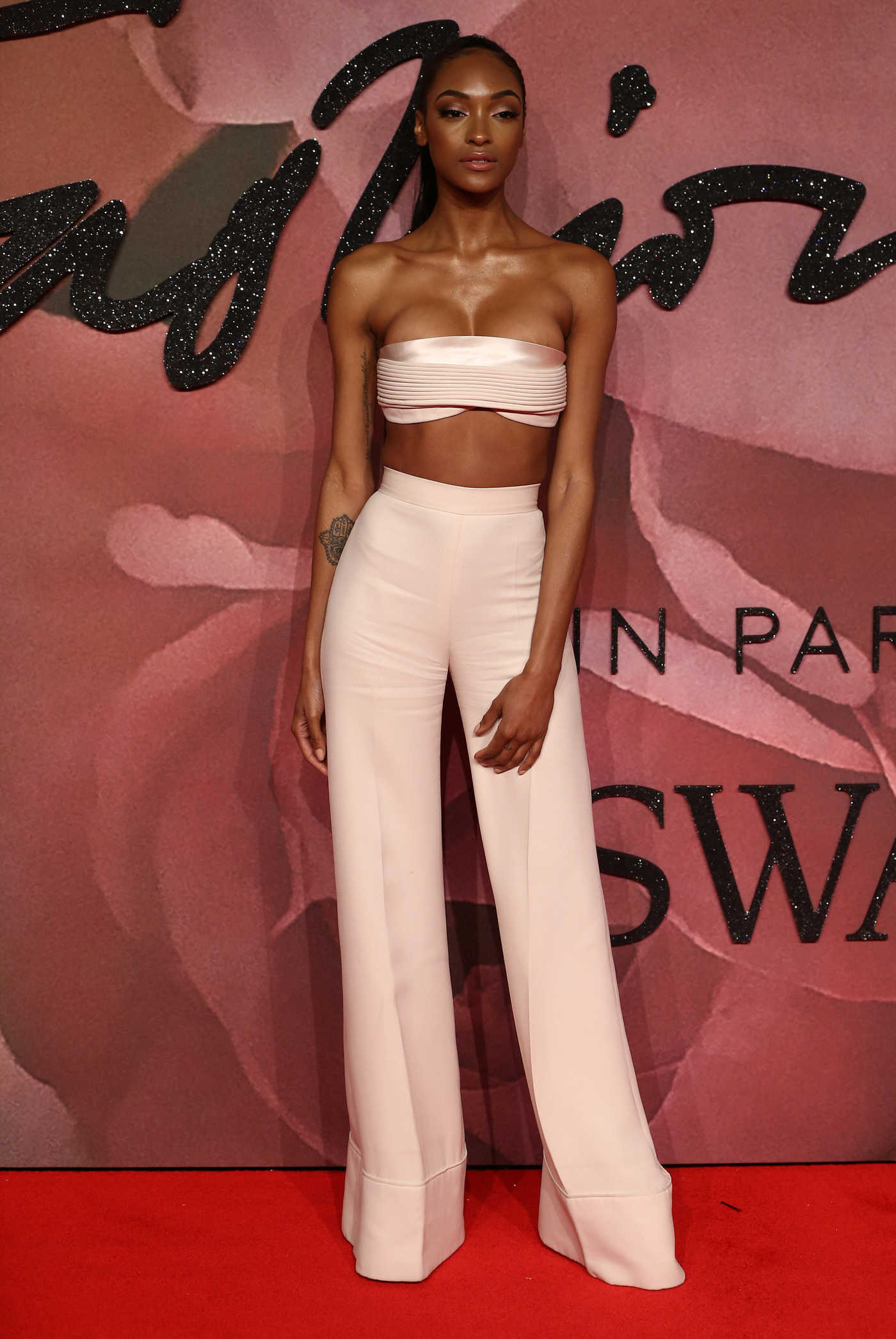 Jourdan Dunn at the 2016 Fashion Awards at Royal Albert Hall in London 12/05/2016