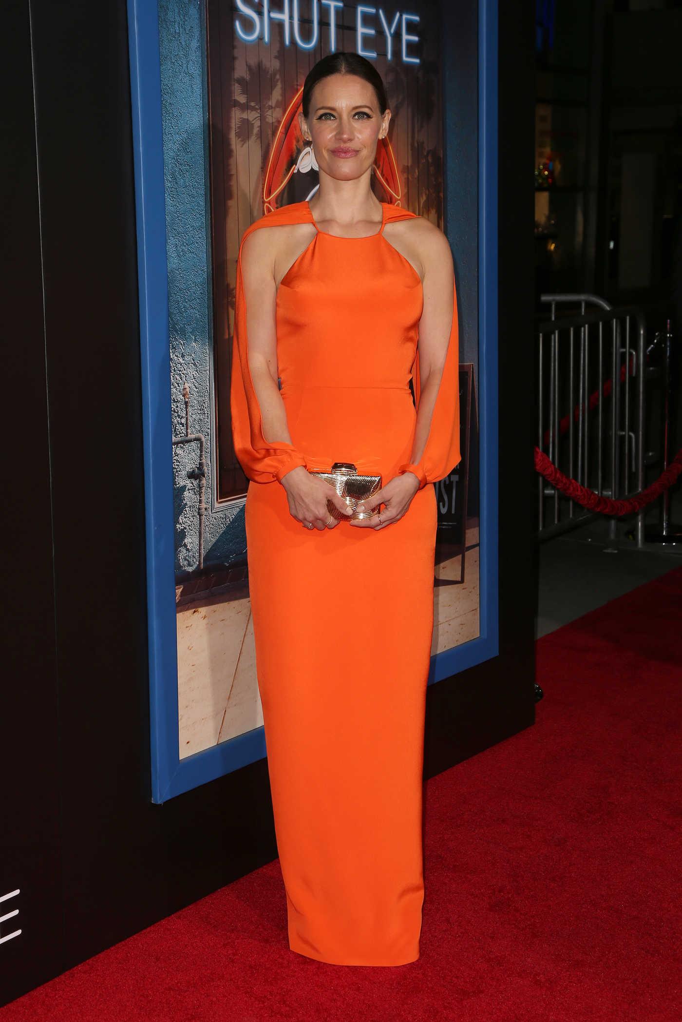 KaDee Strickland at the Shut Eye TV Series Premiere in Los Angeles 12/01/2016