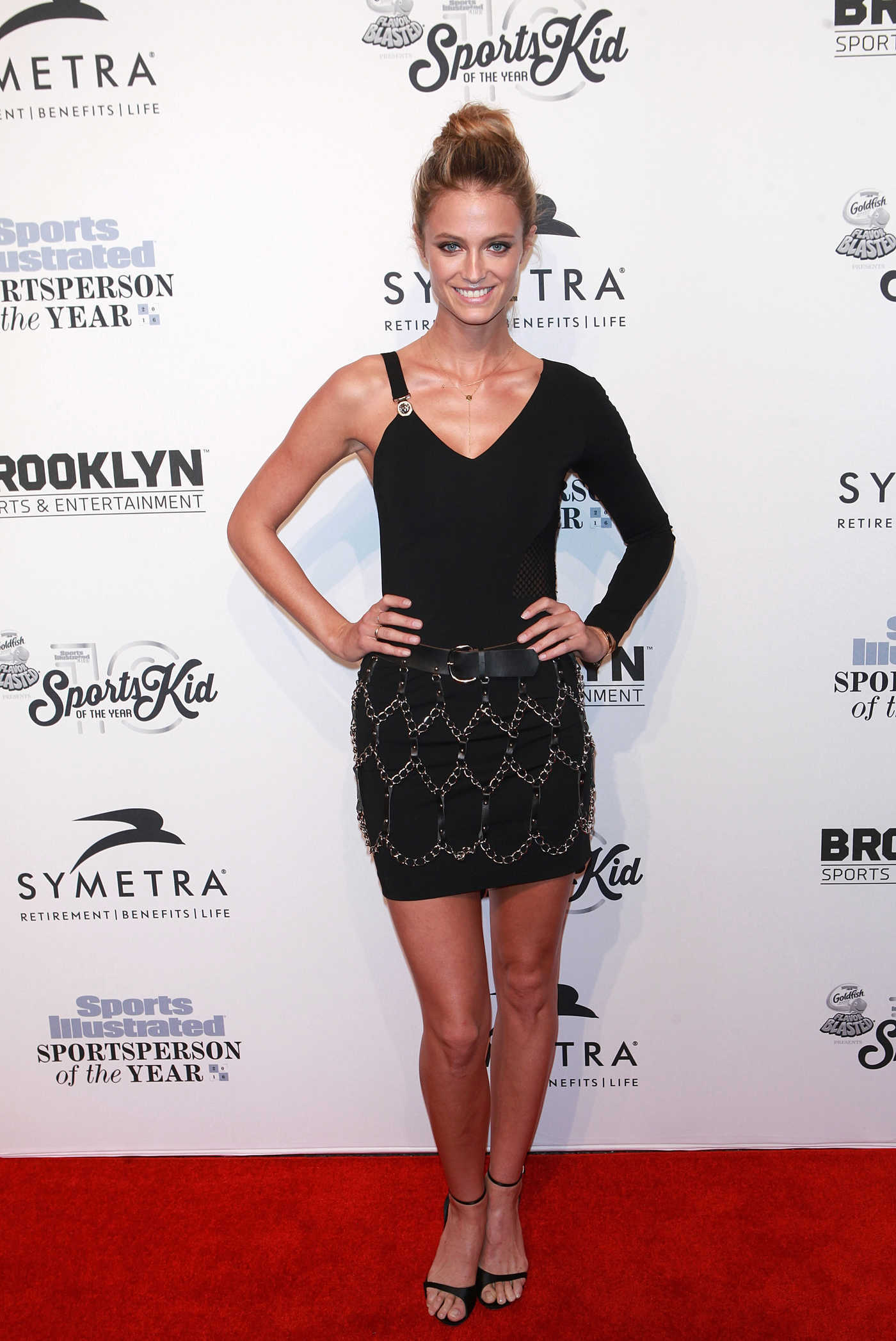 Kate Bock at the Sports Illustrated Sportsperson of the Year 2016 Event at Barclays Center in New York 12/12/2016