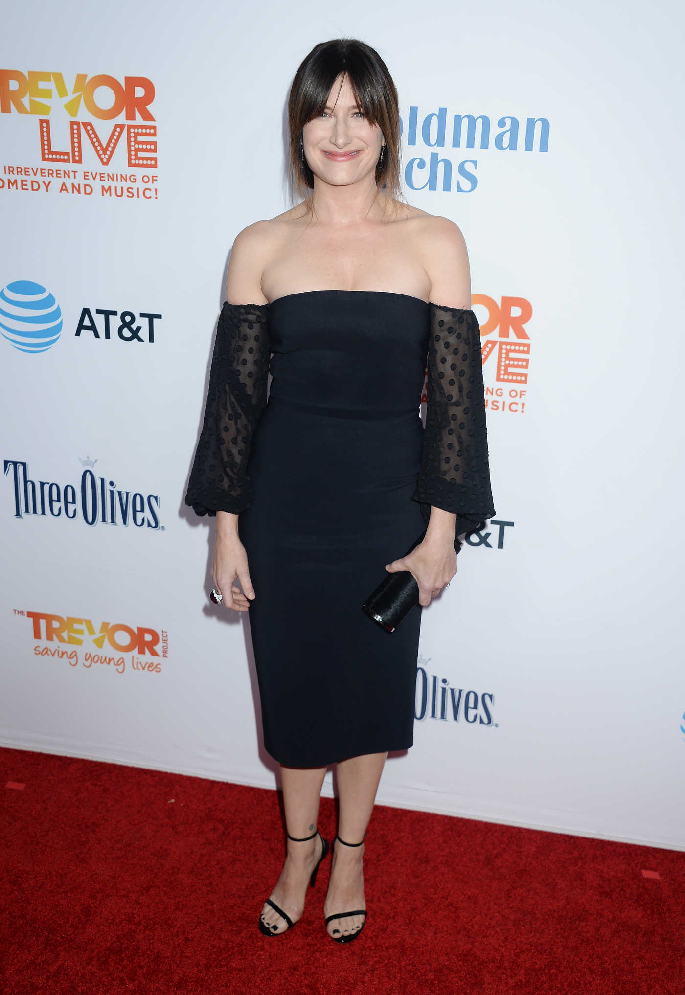Kathryn Hahn at the TrevorLIVE Fundraiser in Los Angeles 12/04/2016