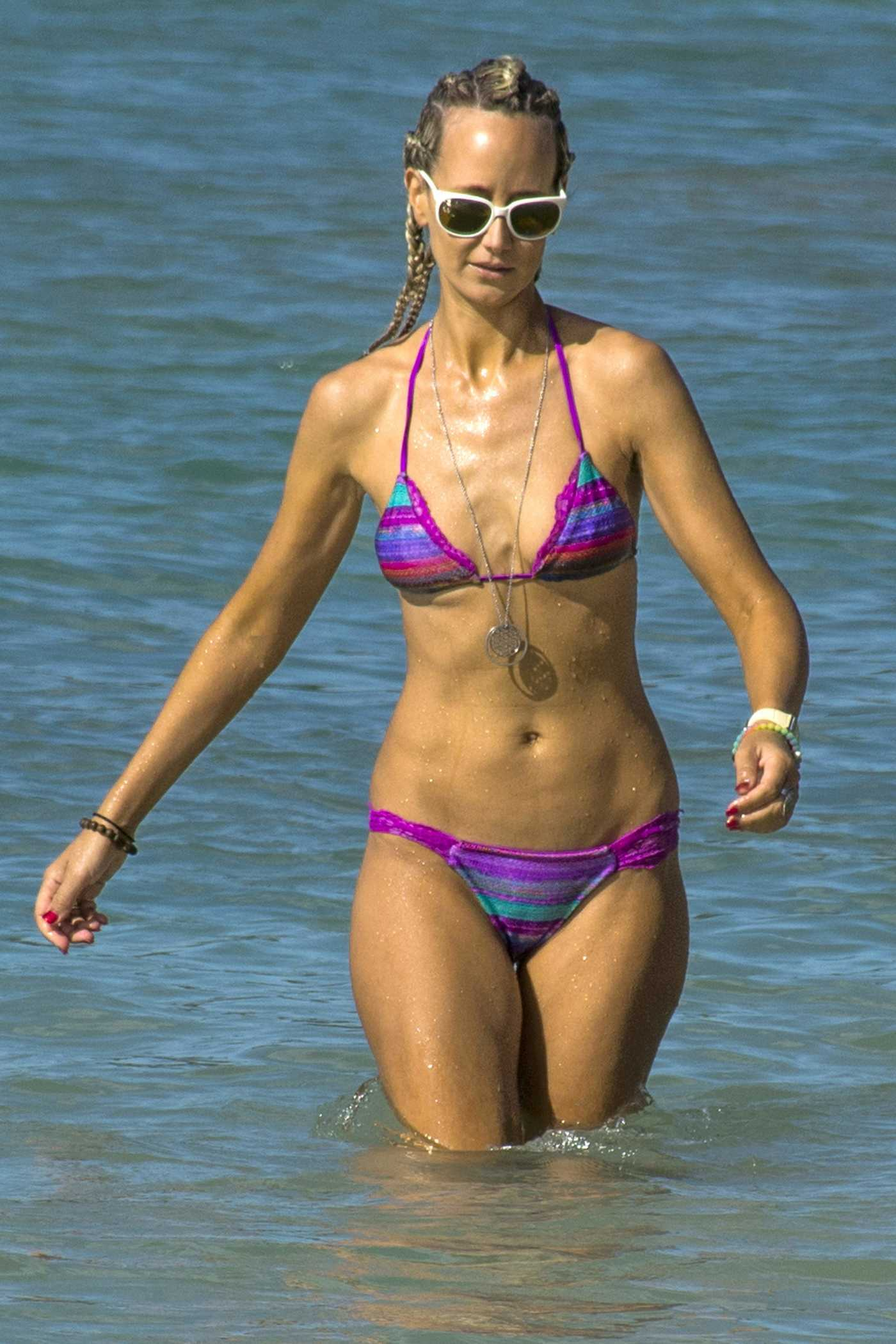 Lady Victoria Hervey Wearing a Bikini in Barbados 12/26/2016