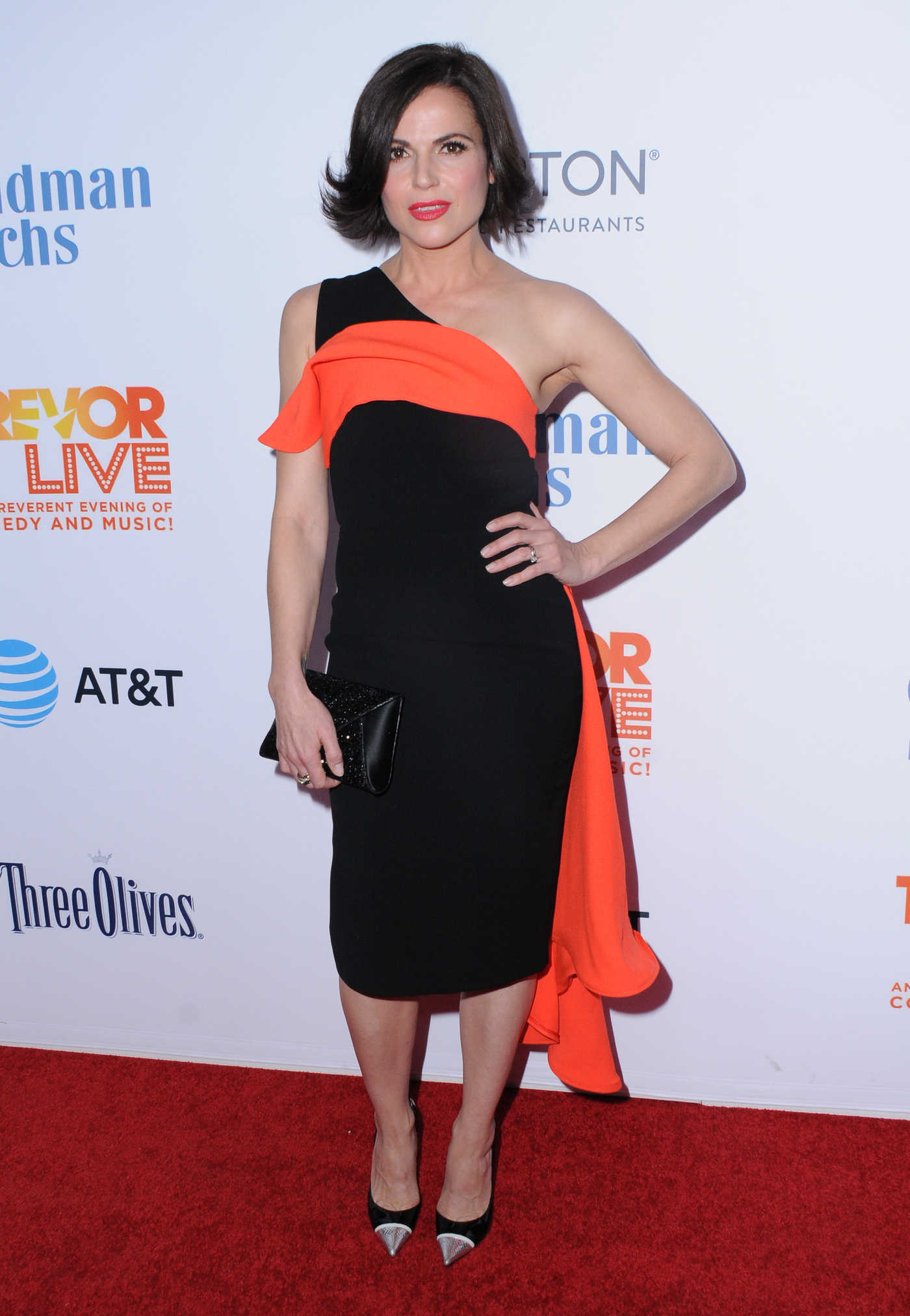 Lana Parrilla at the TrevorLIVE Fundraiser in Los Angeles 12/04/2016