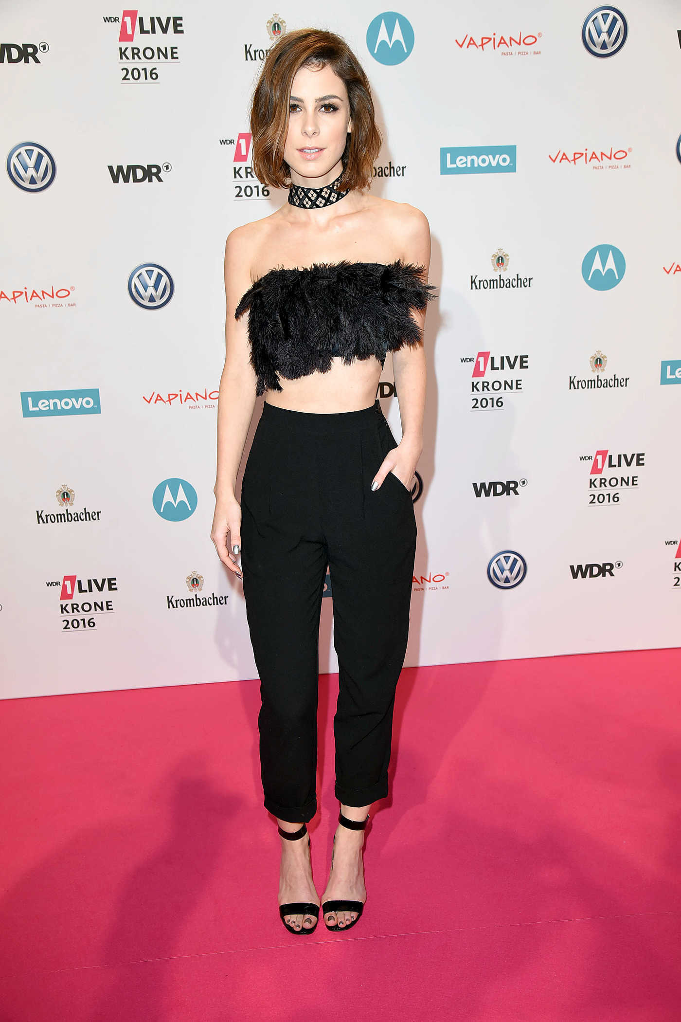 Lena Meyer-Landrut at the 1Live Krone Awards in Bochum 12/01/2016