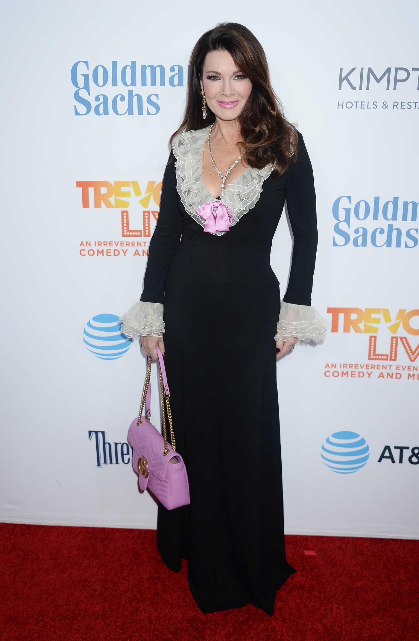 Lisa Vanderpump at the TrevorLIVE Fundraiser in Los Angeles 12/04/2016