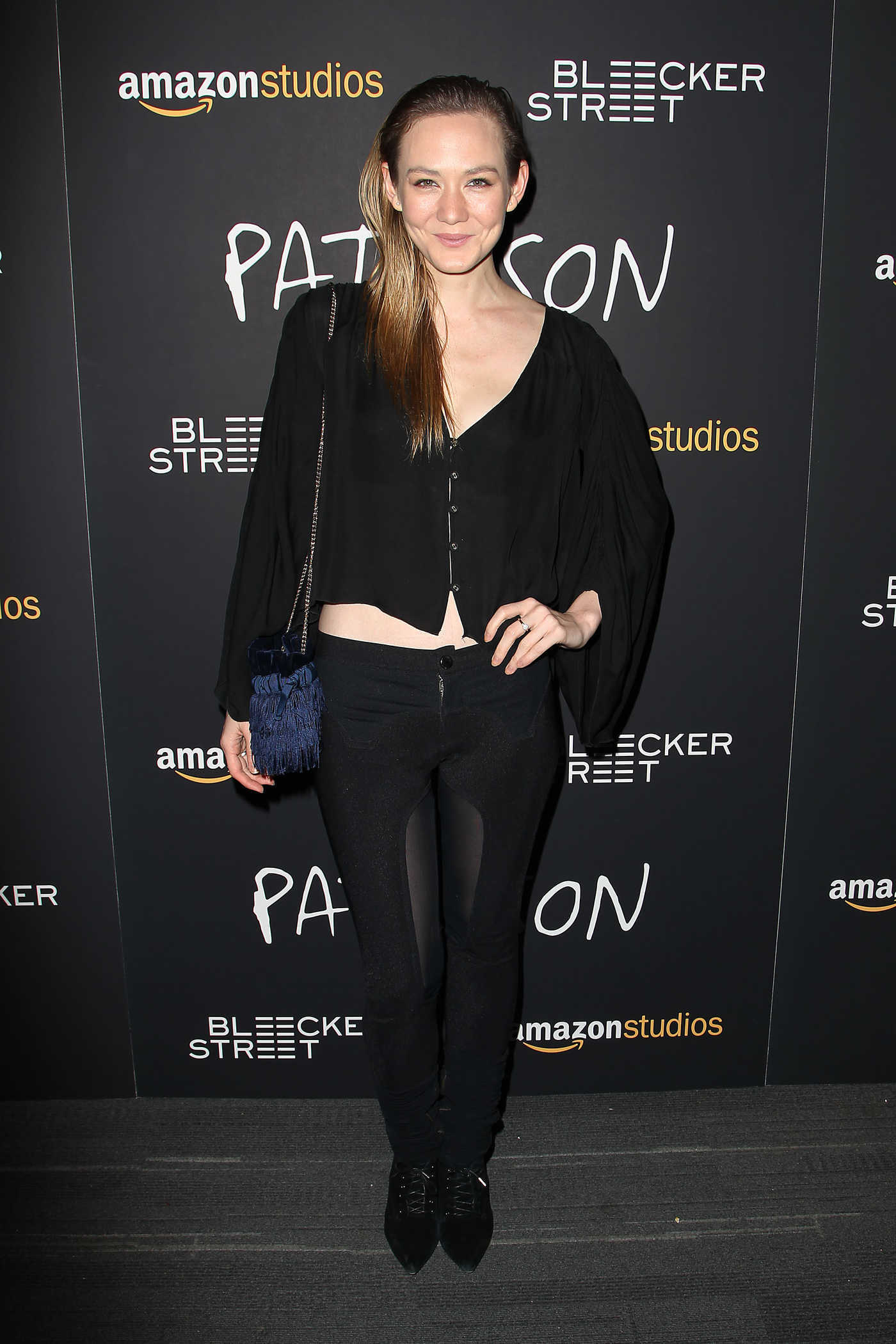 Louisa Krause at Amazon Studios and Bleeker Street's Paterson Screening in New York 12/15/2016