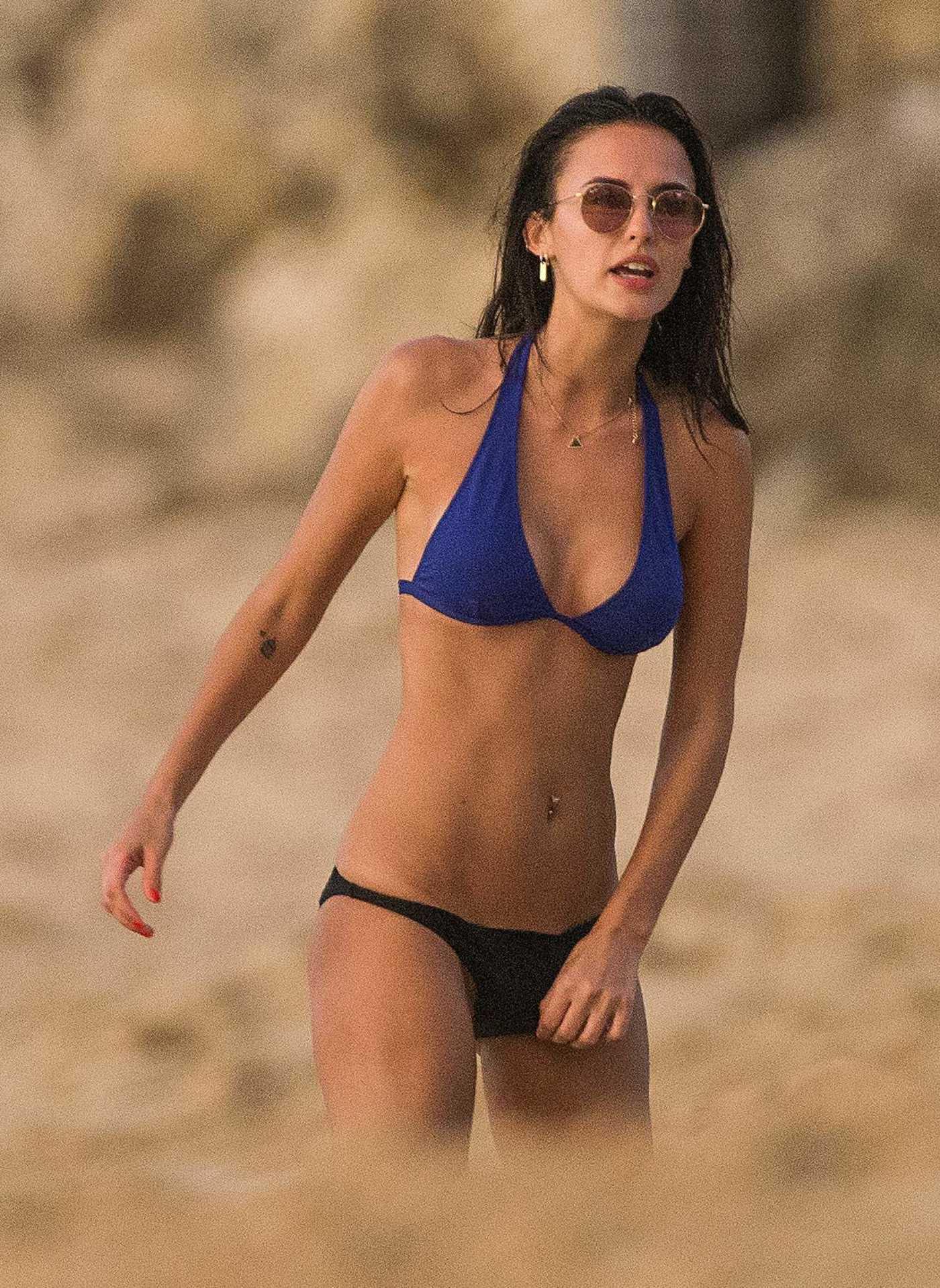 Lucy Watson in Bikini in Barbados 12/25/2016