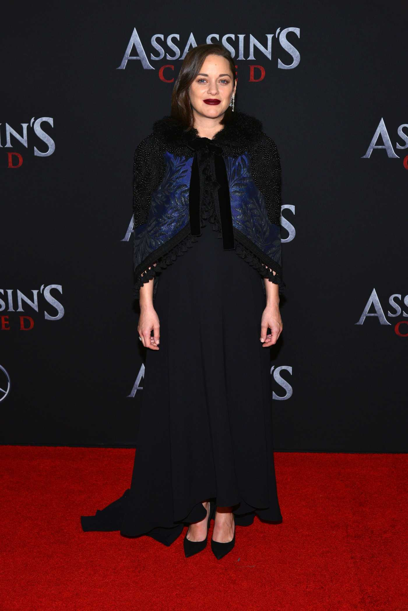 Marion Cotillard at Assassin's Creed Premiere in New York City 12/13/2016