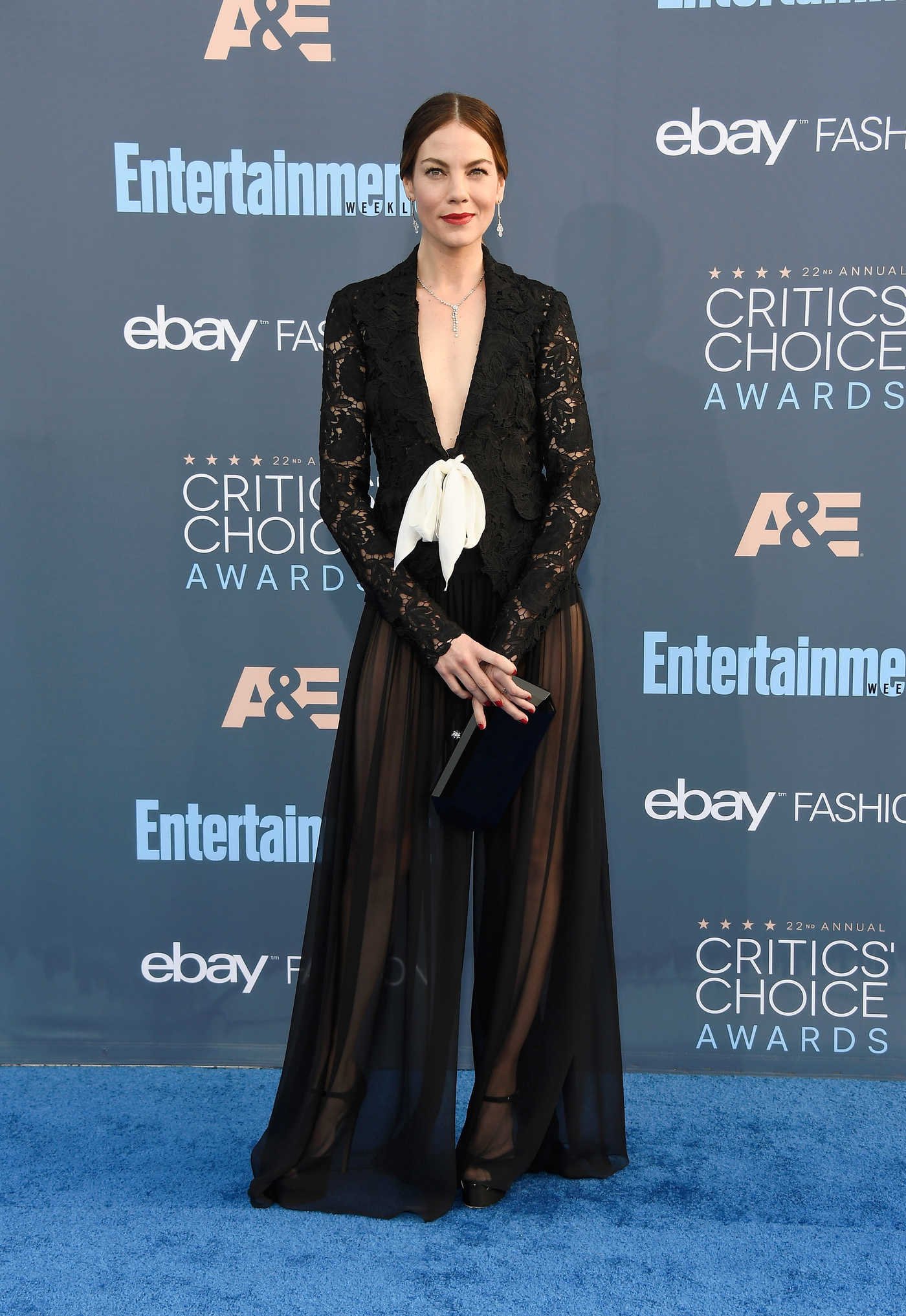Michelle Monaghan at the 22nd Annual Critics' Choice Awards in Santa Monica 12/11/2016