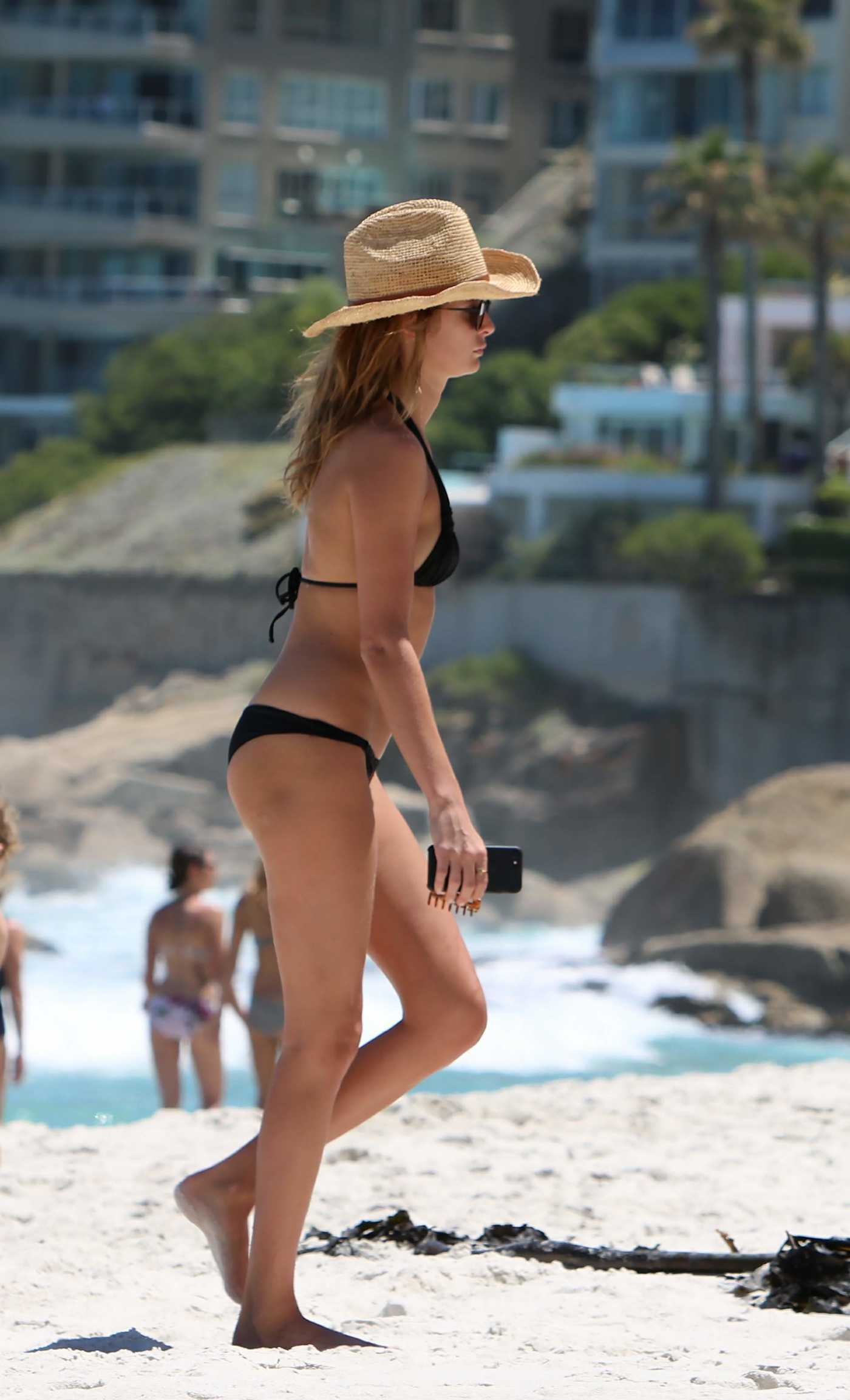 Millie Mackintosh in Bikini at the Beach in South Africa 12/29/2016