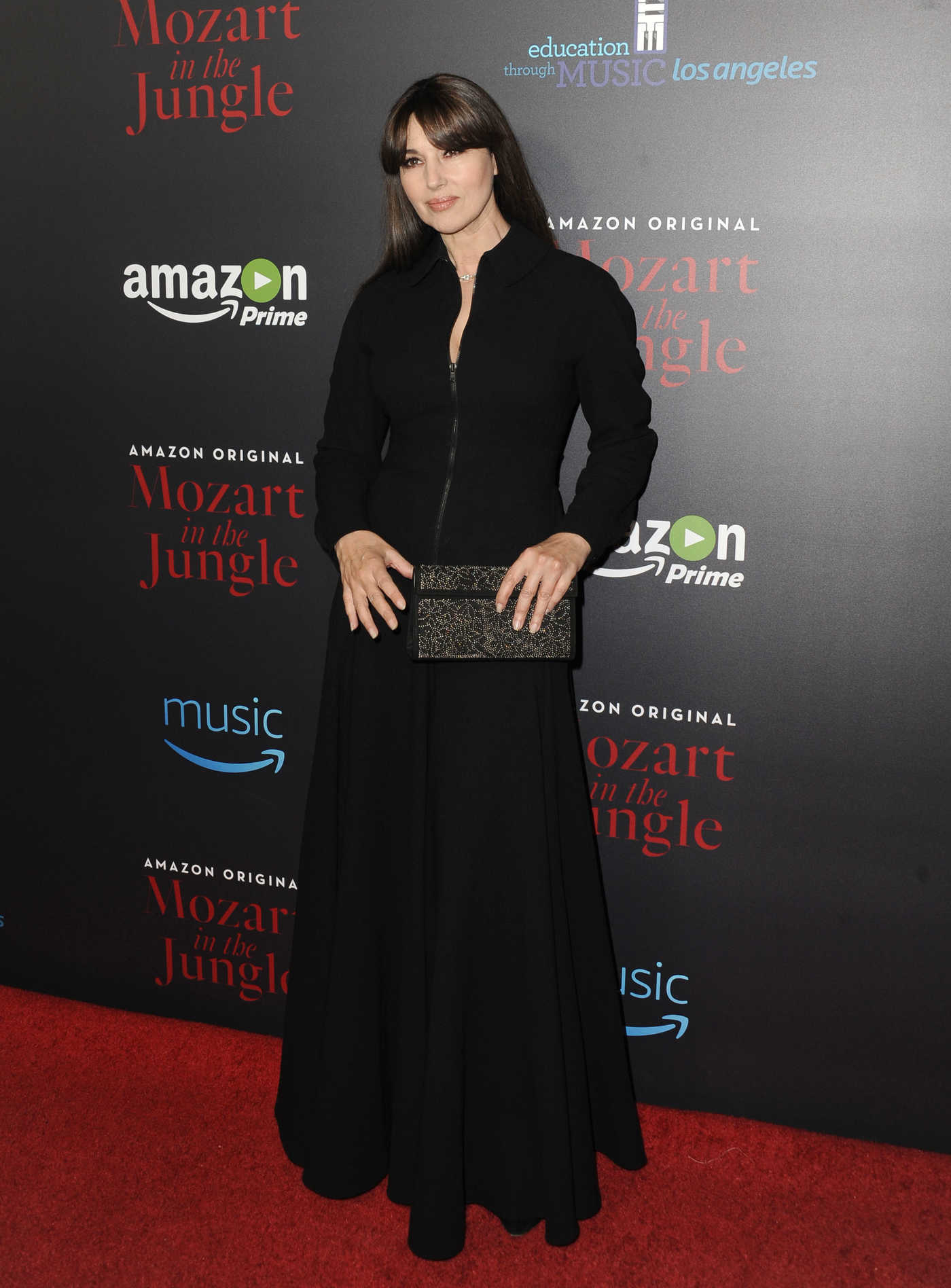 Monica Bellucci at the Mozart in the Jungle Screening in Los Angeles 12/01/2016