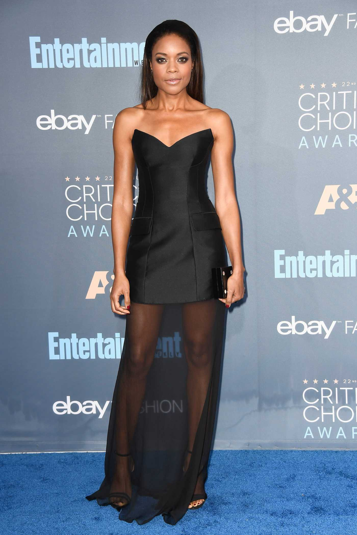 Naomie Harris at the 22nd Annual Critics' Choice Awards in Santa Monica 12/11/2016