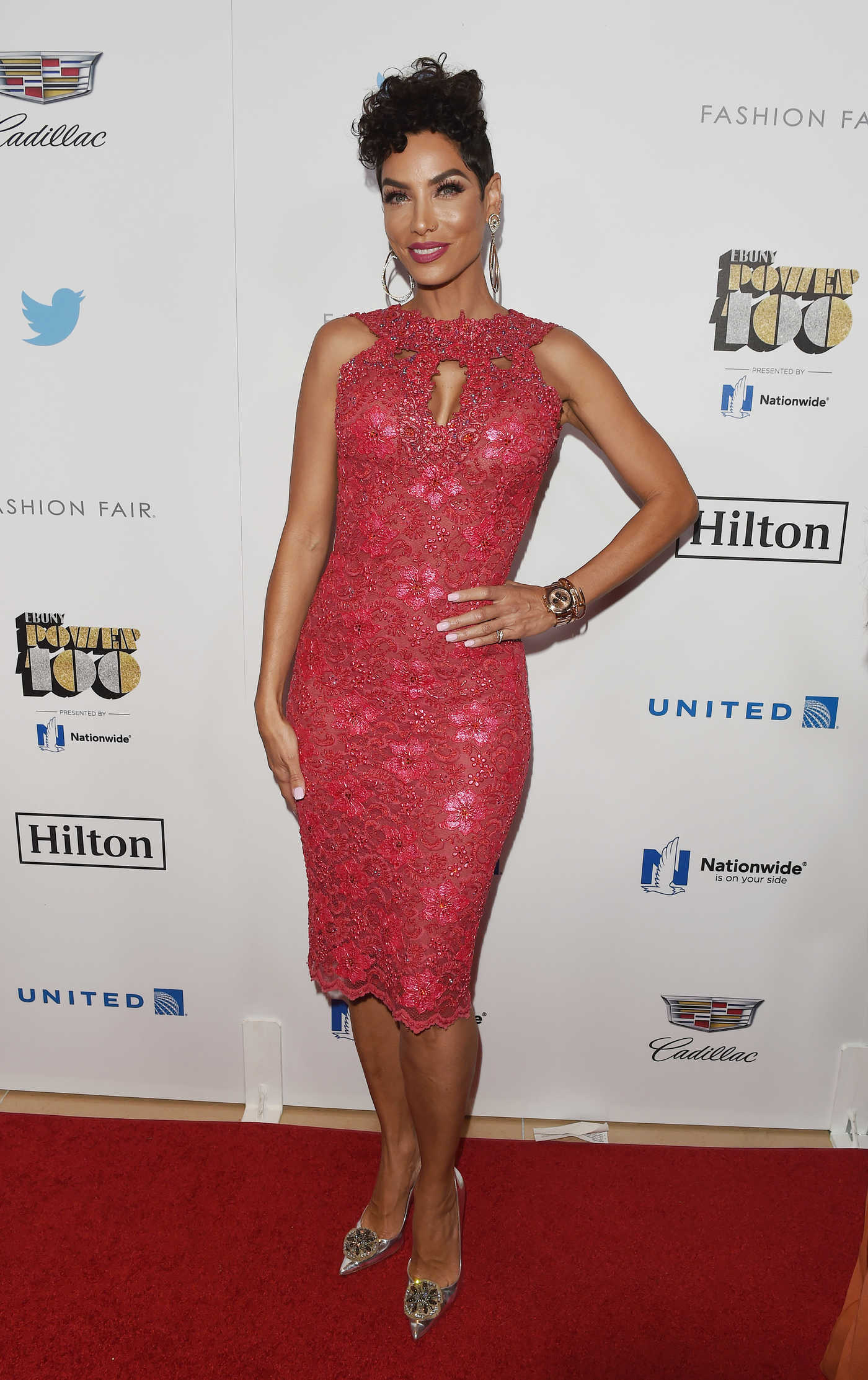 Nicole Murphy at Ebony Power 100 Gala in Beverly Hills 12/01/2016