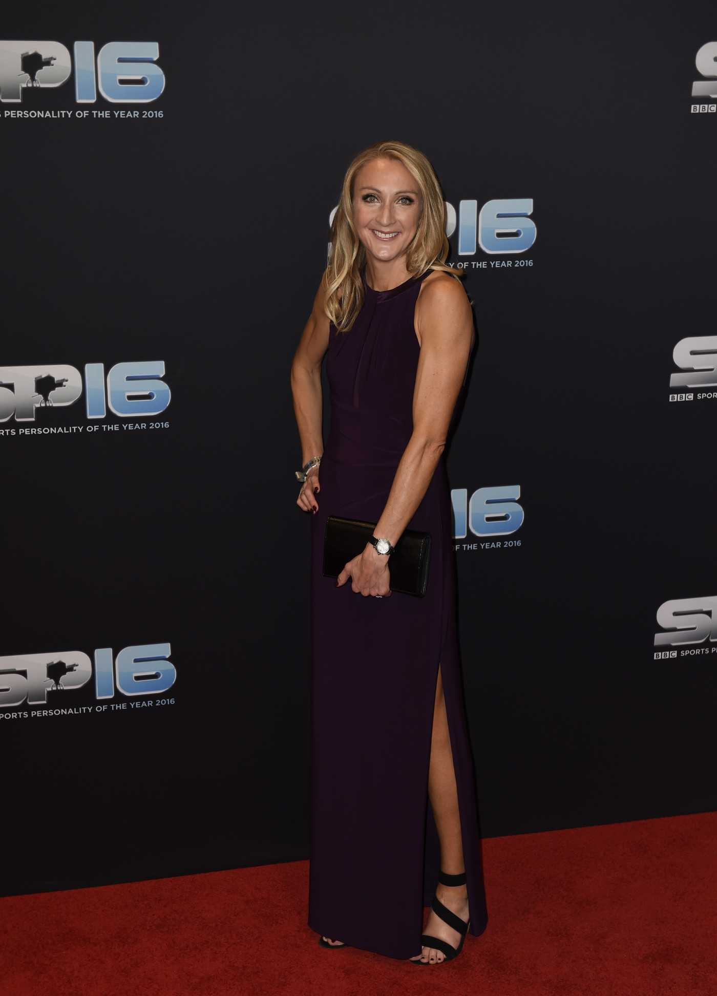 Paula Radcliffe at the BBC Sports Personality of the Year 2016 at Genting Arena in Birmingham 12/18/2016