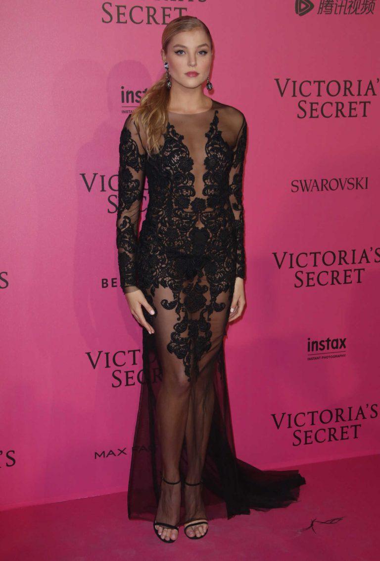 Rachel Hilbert at the 2016 Victoria's Secret Fashion Show After Party at Grand Palais in Paris 11/30/2016-1