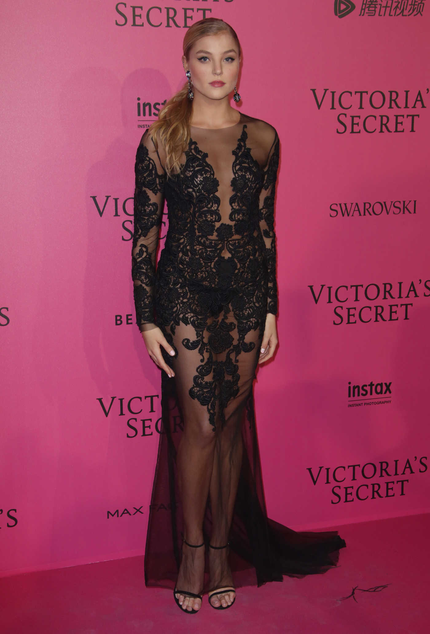 Rachel Hilbert at the 2016 Victoria's Secret Fashion Show After Party at Grand Palais in Paris 11/30/2016