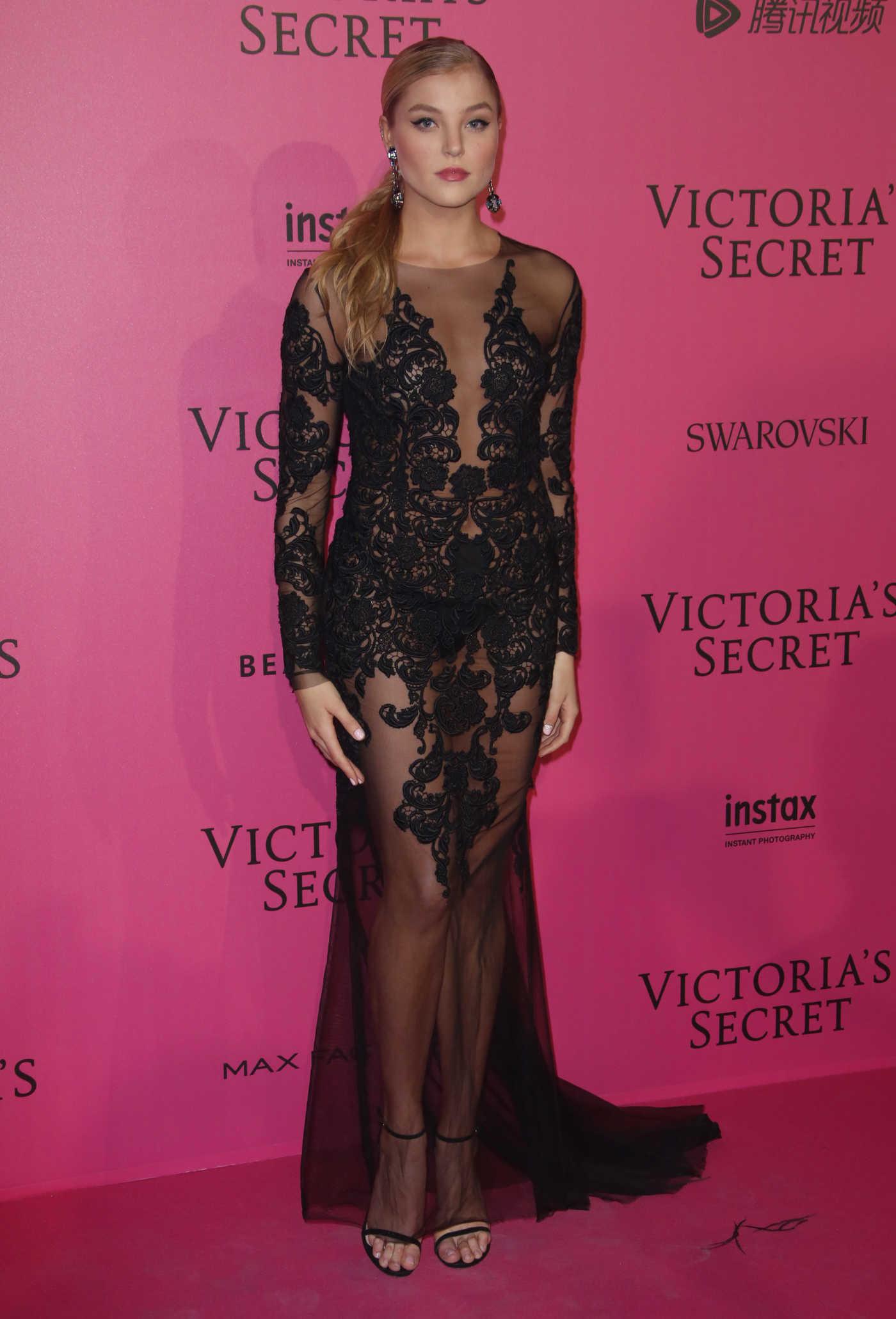Rachel Hilbert at the 2016 Victoria's Secret Fashion Show After Party at Grand Palais in Paris 11/30/2016
