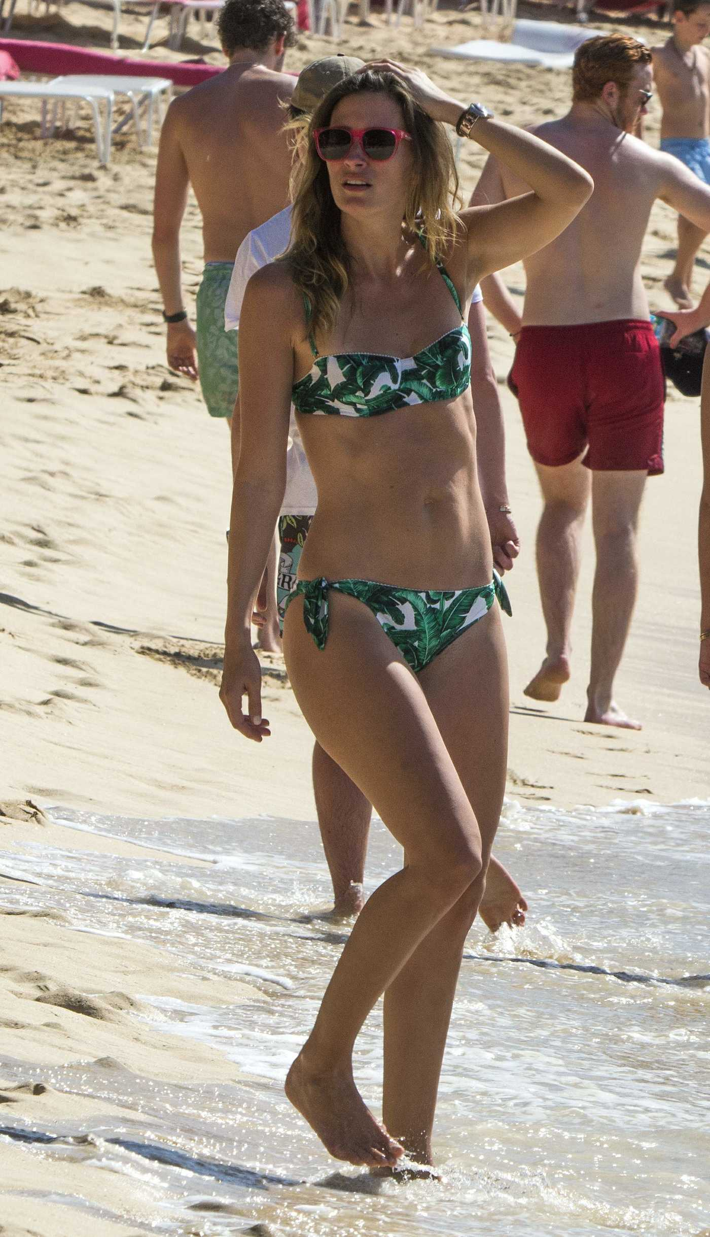 Rhea Durham in Bikini at the Beach in Bridgetown, Barbados 12/30/2016