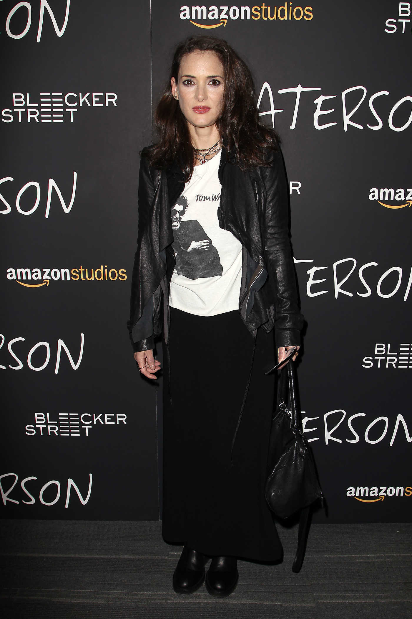 Winona Ryder at Amazon Studios and Bleeker Street's Paterson Screening in New York 12/15/2016