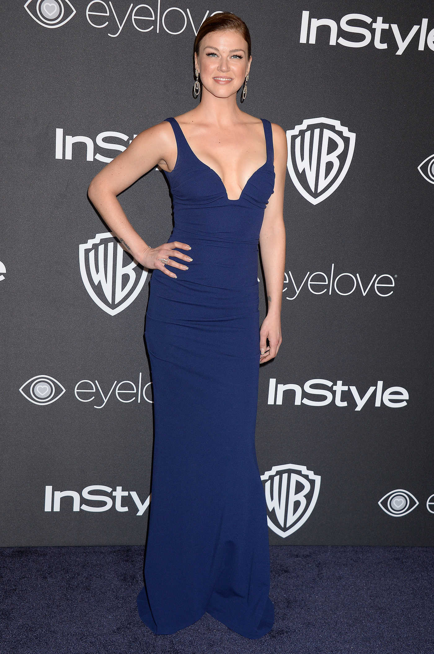 Adrianne Palicki at the 18th Annual InStyle Post-Golden Globes Party in Beverly Hills 01/08/2017