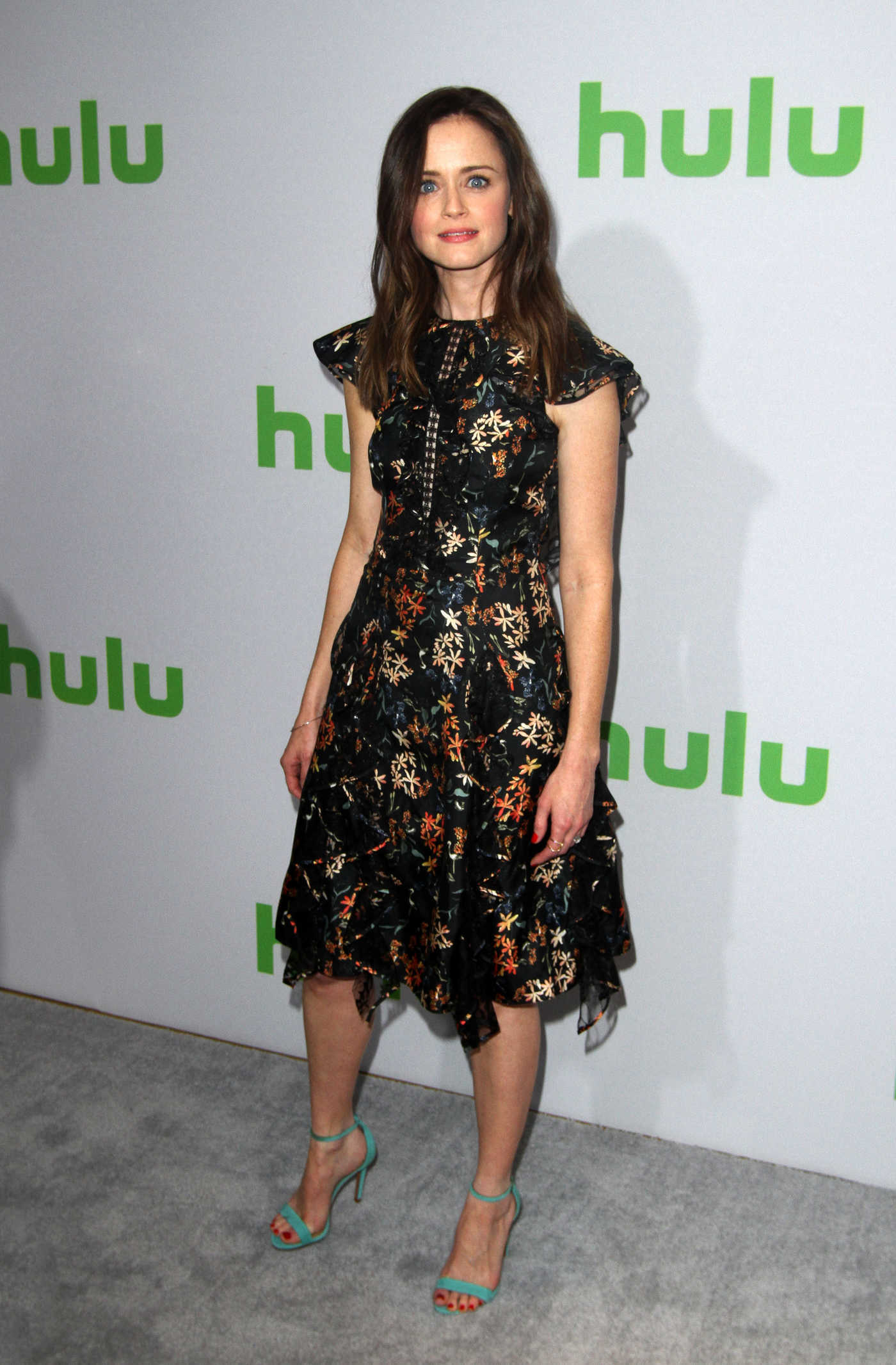 Alexis Bledel at the Hulu's Winter TCA 2017 in Los Angeles 01/07/2017