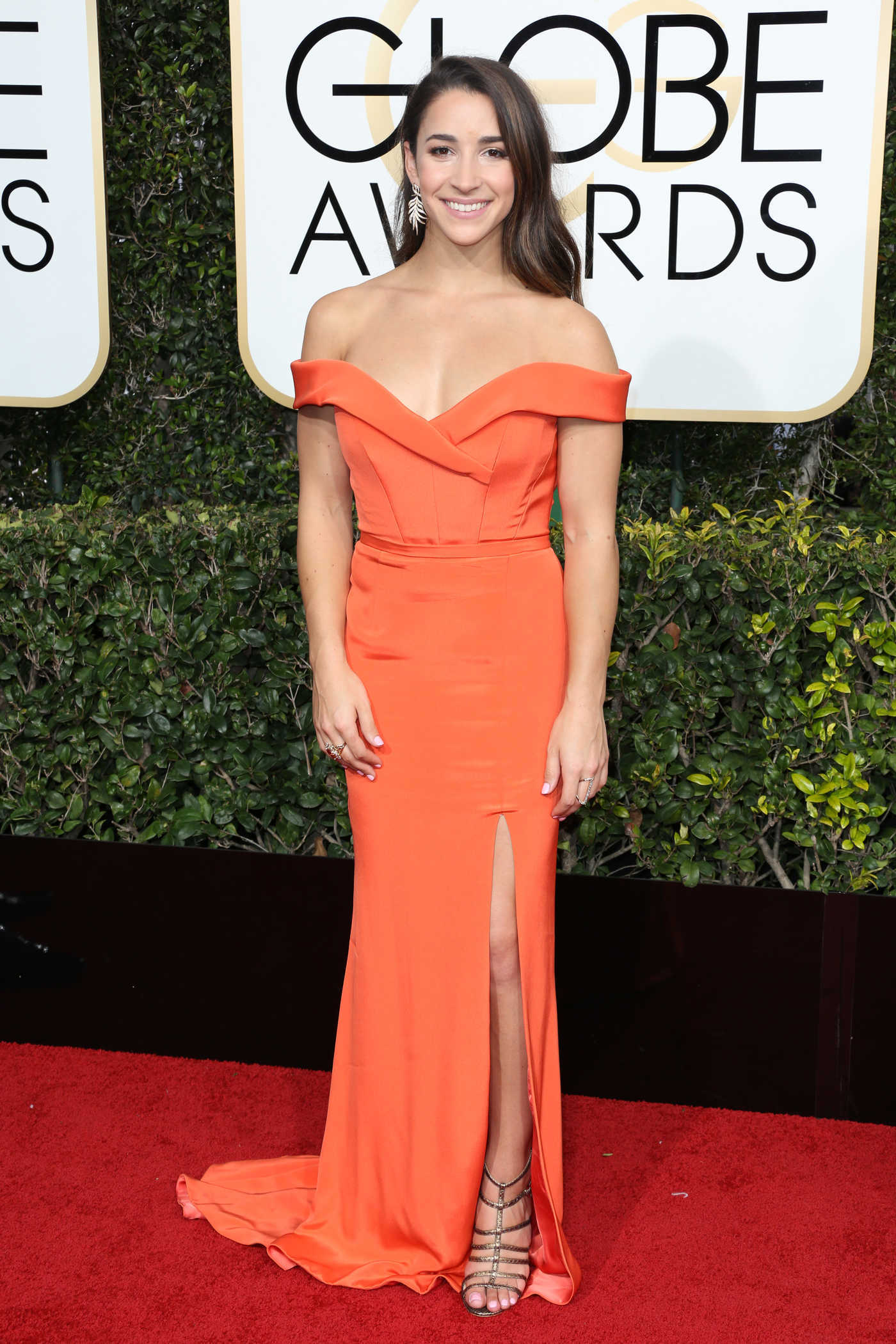 Aly Raisman at the 74th Annual Golden Globe Awards in Beverly Hills 01/08/2017