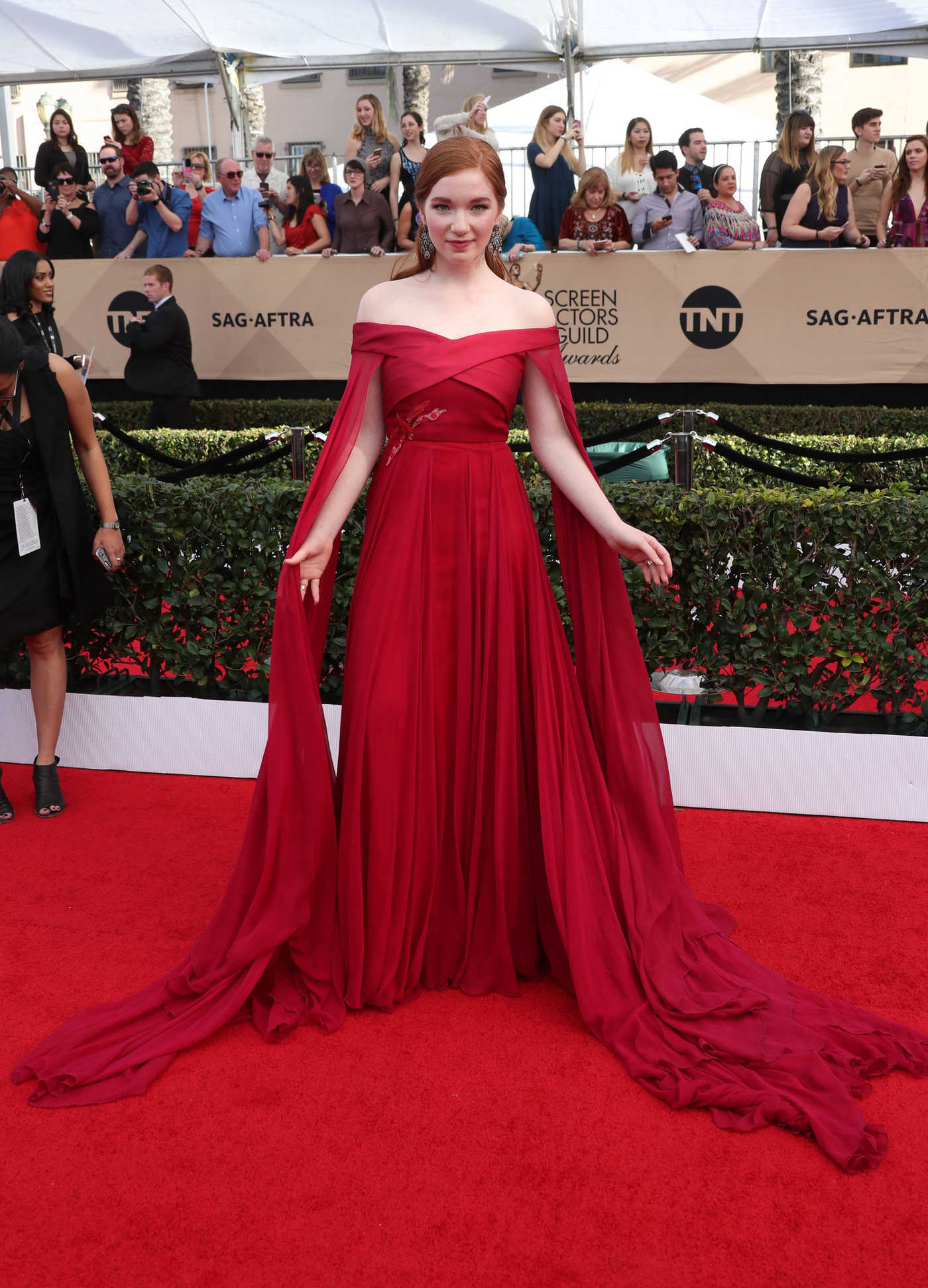 Annalise Basso at the 23rd Annual Screen Actors Guild Awards in Los Angeles 01/29/2017