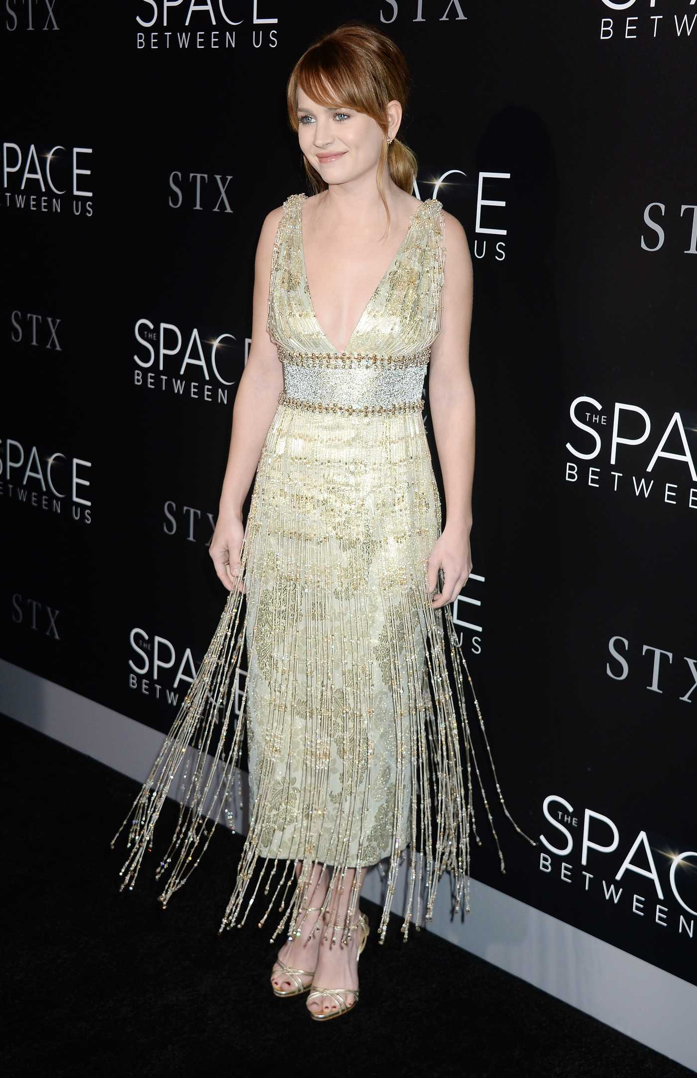 Britt Robertson at The Space Between Us Premiere in Los Angeles 01/17/2017