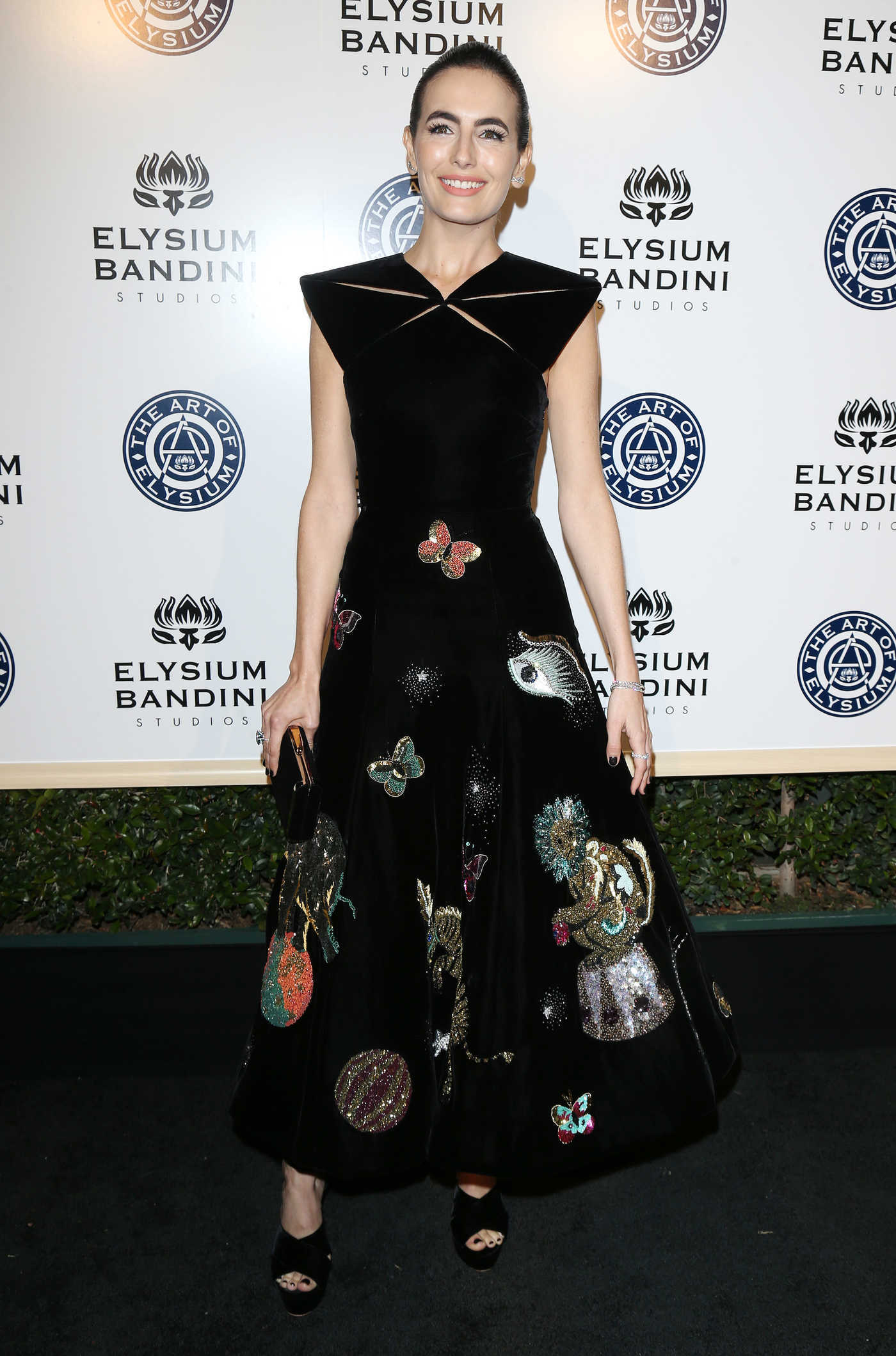 Camilla Belle at the 10rh Annual Art of Elysium Heaven Gala in Los Angeles 01/07/2017