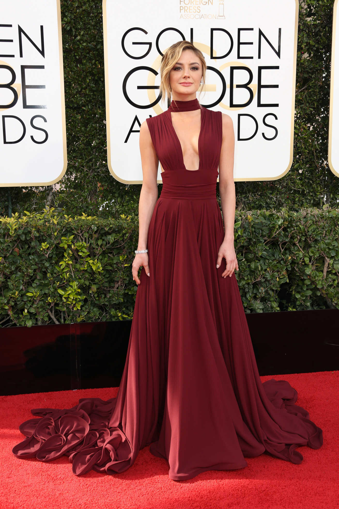 Christine Evangelista at the 74th Annual Golden Globe Awards in Beverly Hills 01/08/2017