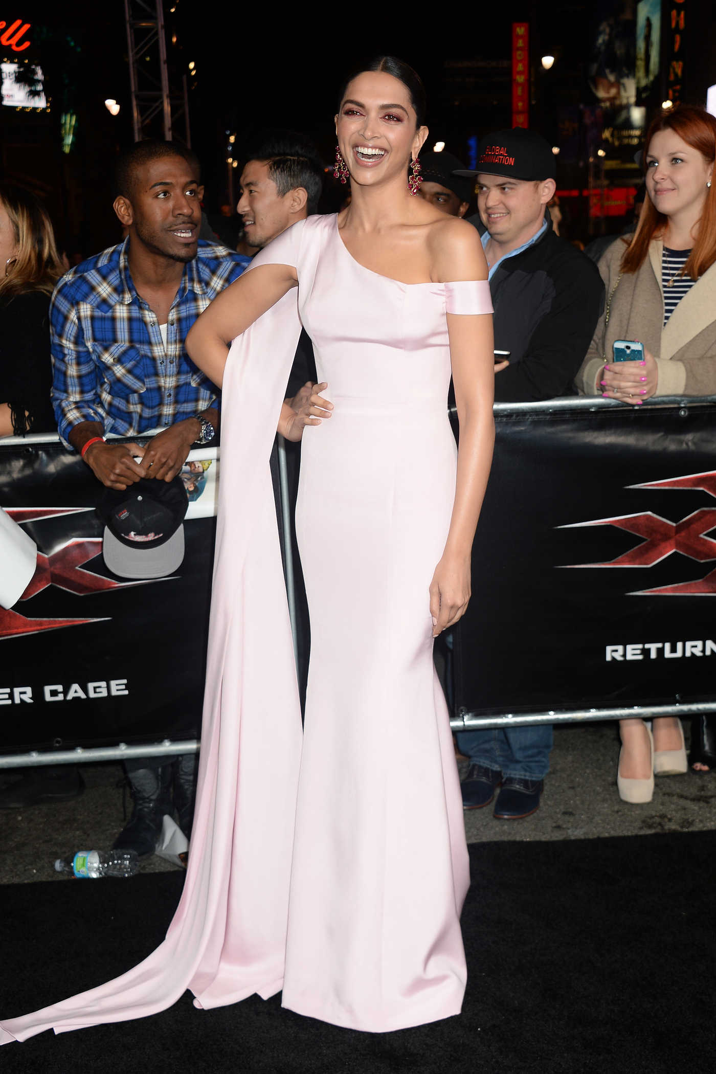 Deepika Padukone at the XXX: Return of Xander Cage Premiere at the TCL Chinese Theatre in Los Angeles 01/19/2017