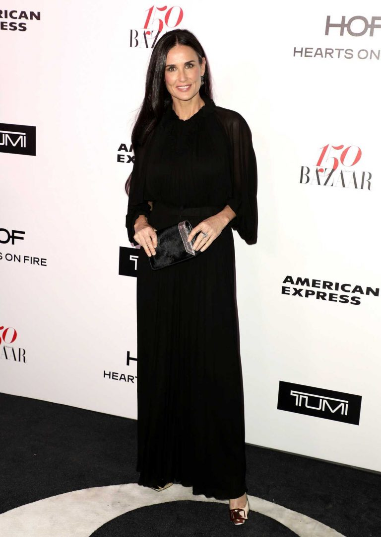 Demi Moore at the Harper's BAZAAR Celebration of the 150 Most Fashionable Women in West Hollywood 01/27/2017-1