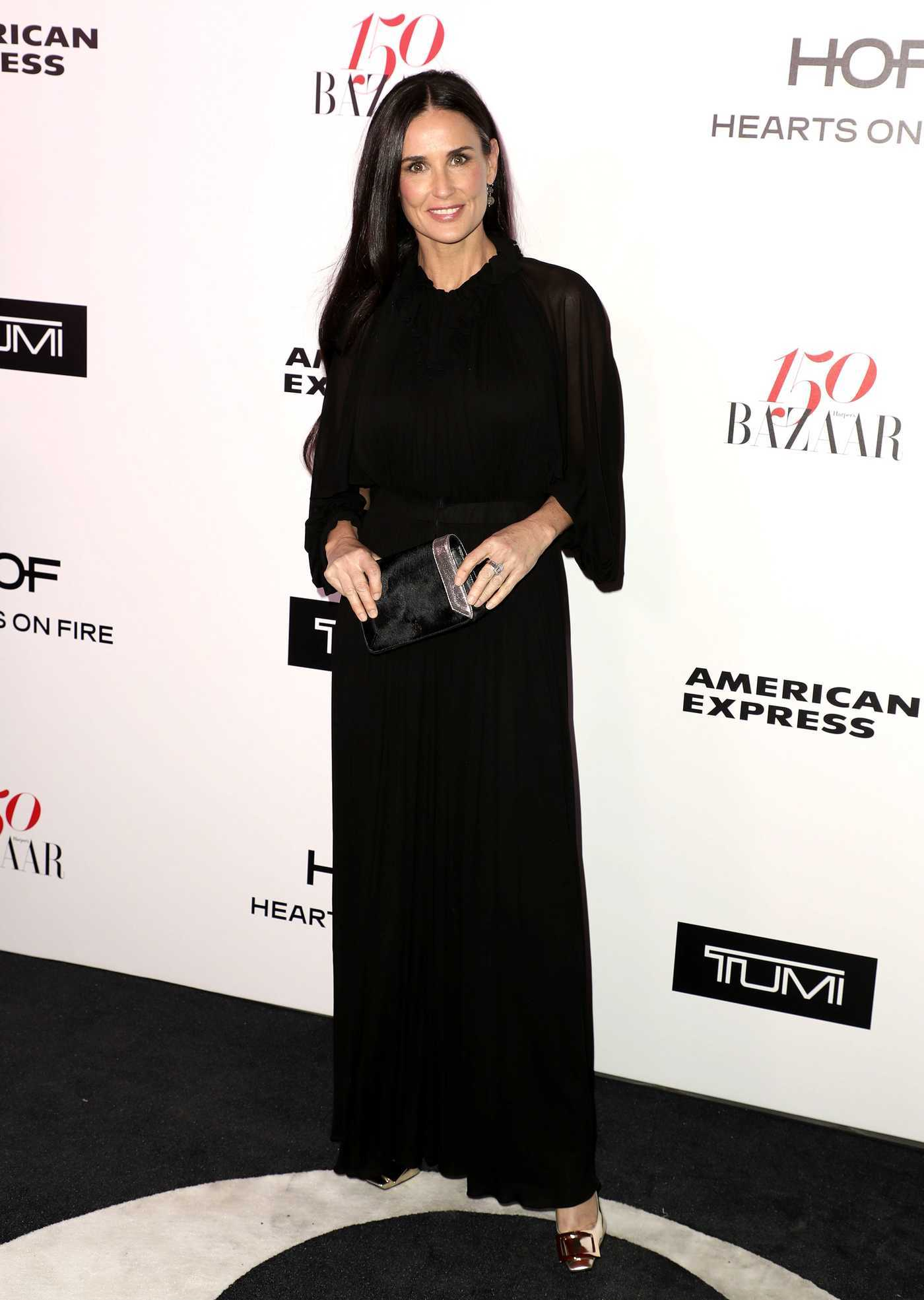 Demi Moore at the Harper's BAZAAR Celebration of the 150 Most Fashionable Women in West Hollywood 01/27/2017
