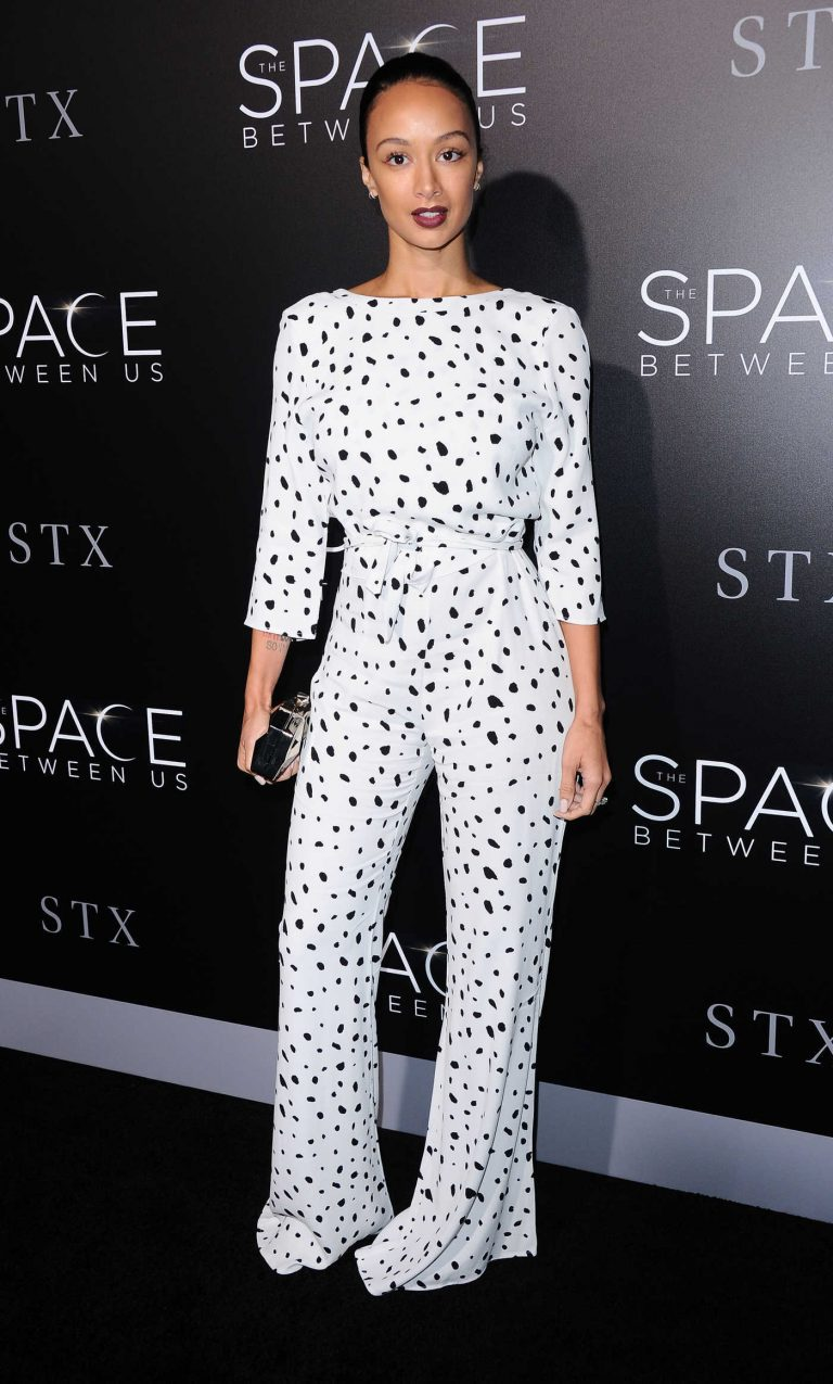 Draya Michele at The Space Between Us Premiere in Los Angeles 01/17/2017-1