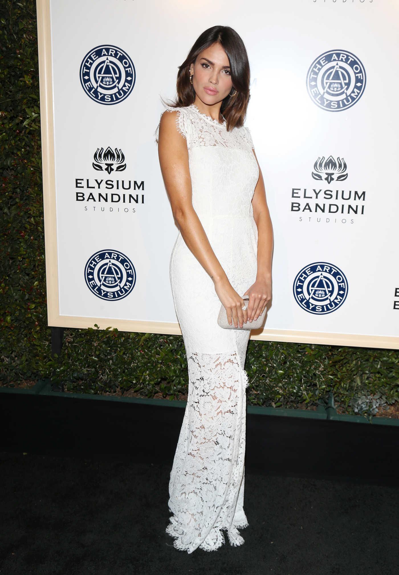 Eiza Gonzalez at the 10rh Annual Art of Elysium Heaven Gala in Los Angeles 01/07/2017