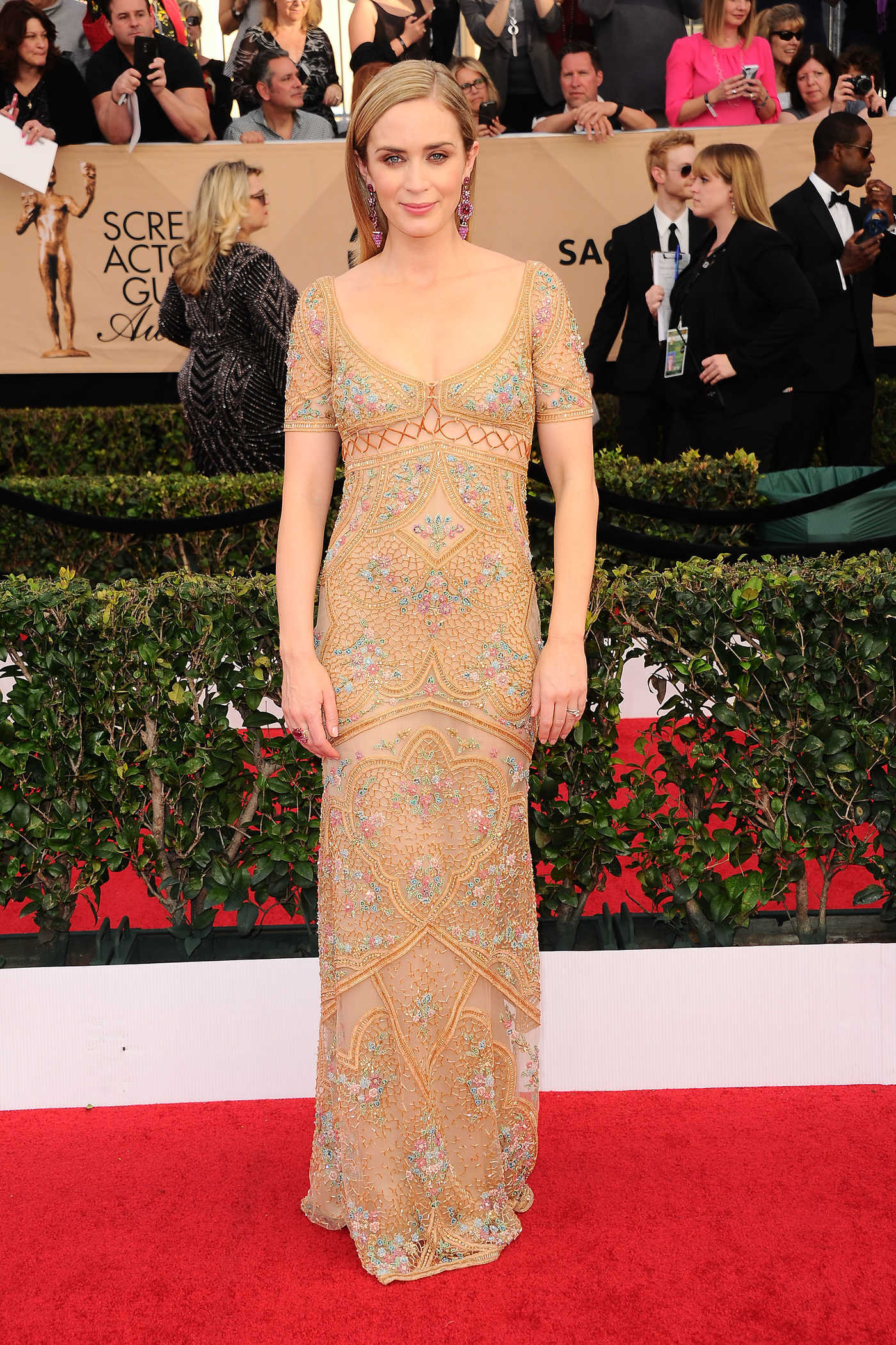 Emily Blunt at the 23rd Annual Screen Actors Guild Awards in Los Angeles 01/29/2017
