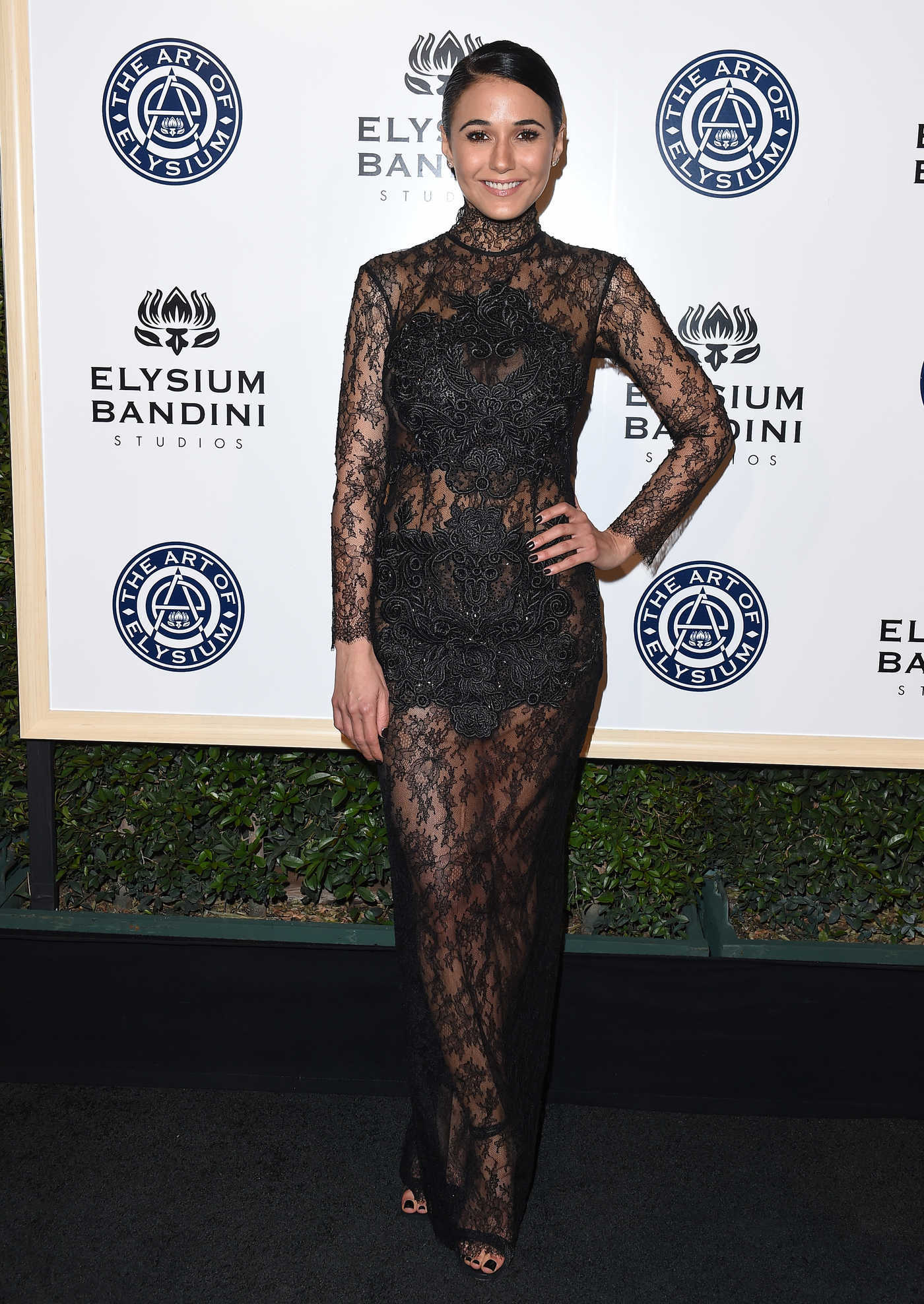 Emmanuelle Chriqui at the 10rh Annual Art of Elysium Heaven Gala in Los Angeles 01/07/2017
