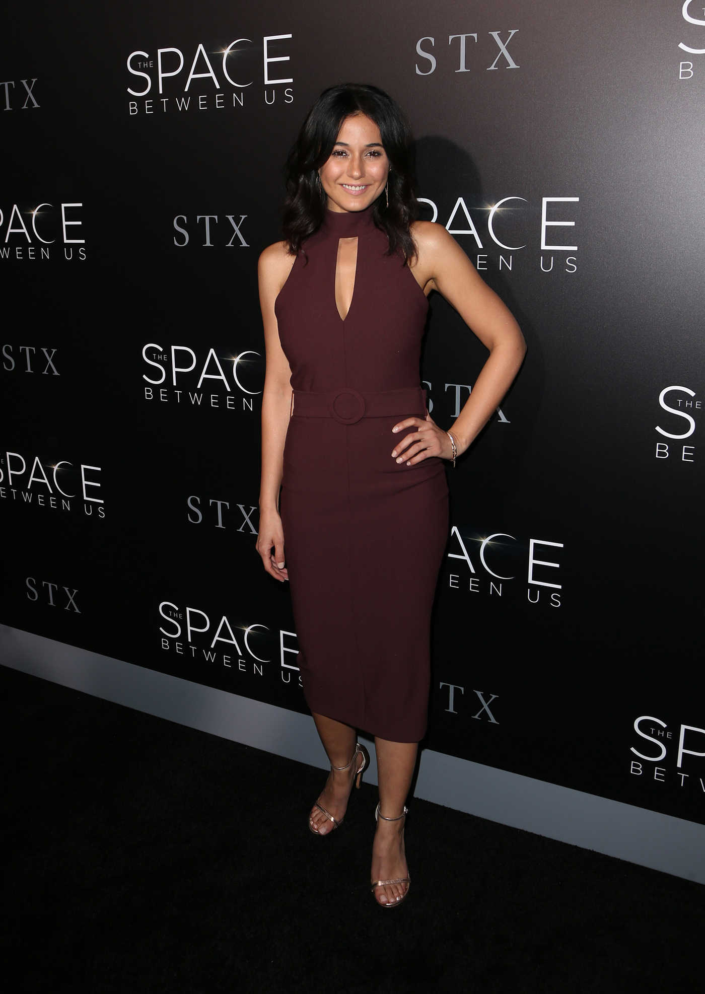 Emmanuelle Chriqui at The Space Between Us Premiere in Los Angeles 01/17/2017