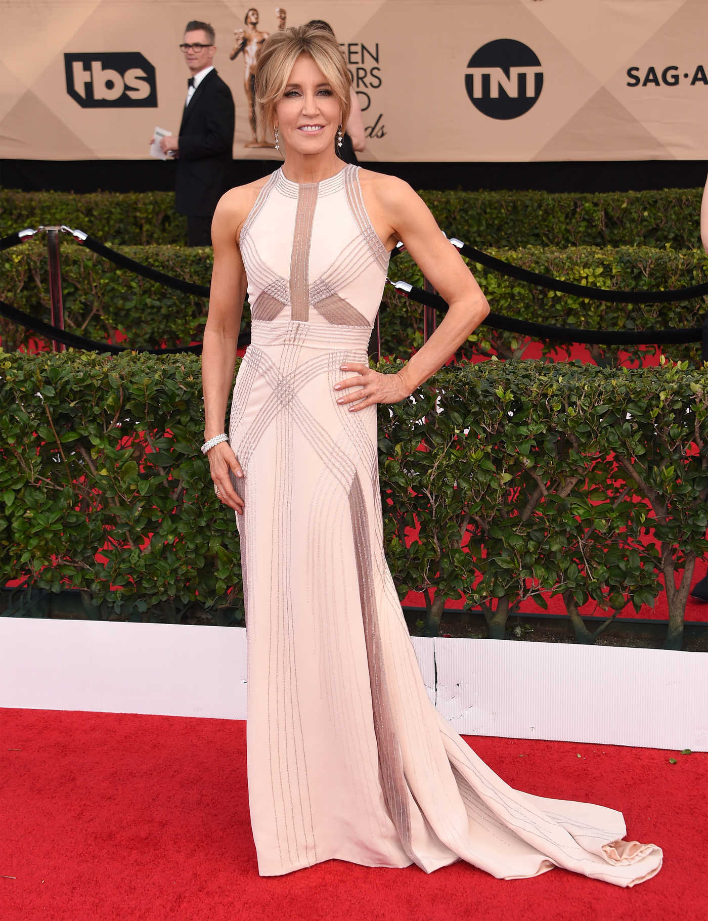 Felicity Huffman at the 23rd Annual Screen Actors Guild Awards in Los Angeles 01/29/2017