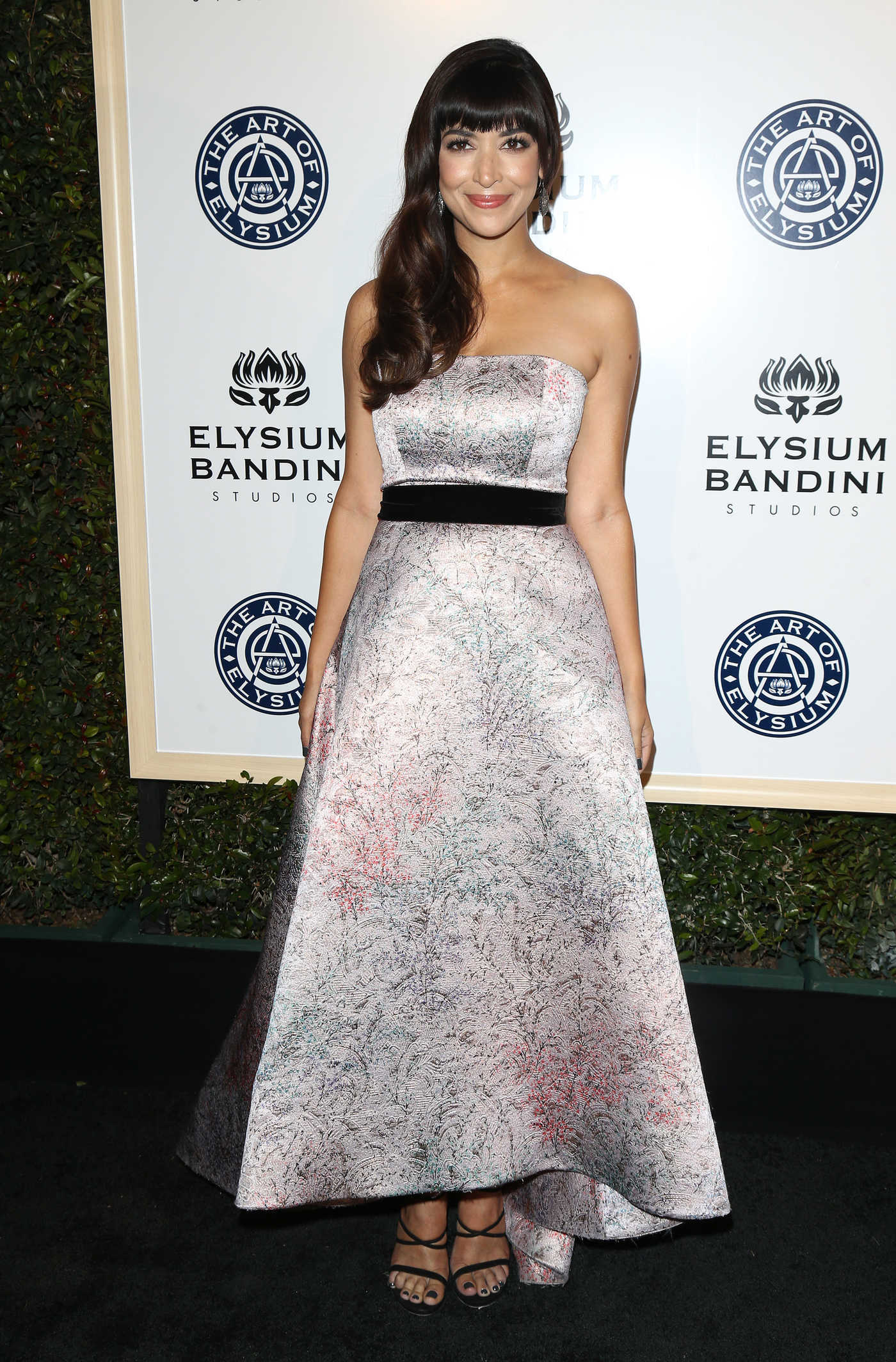 Hannah Simone at the 10rh Annual Art of Elysium Heaven Gala in Los Angeles 01/07/2017