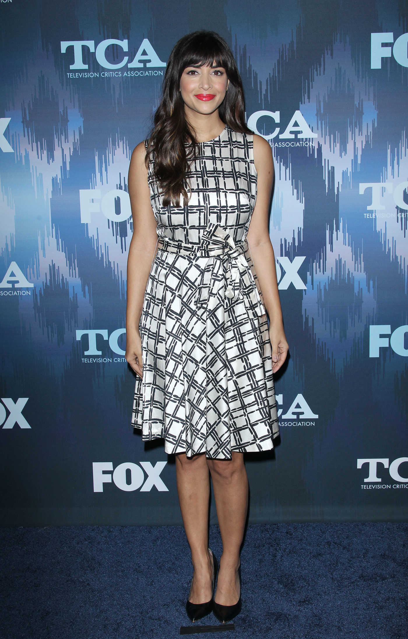 Hannah Simone at the FOX All-Star Party During the 2017 Winter TCA Tour in Pasadena 01/11/2017