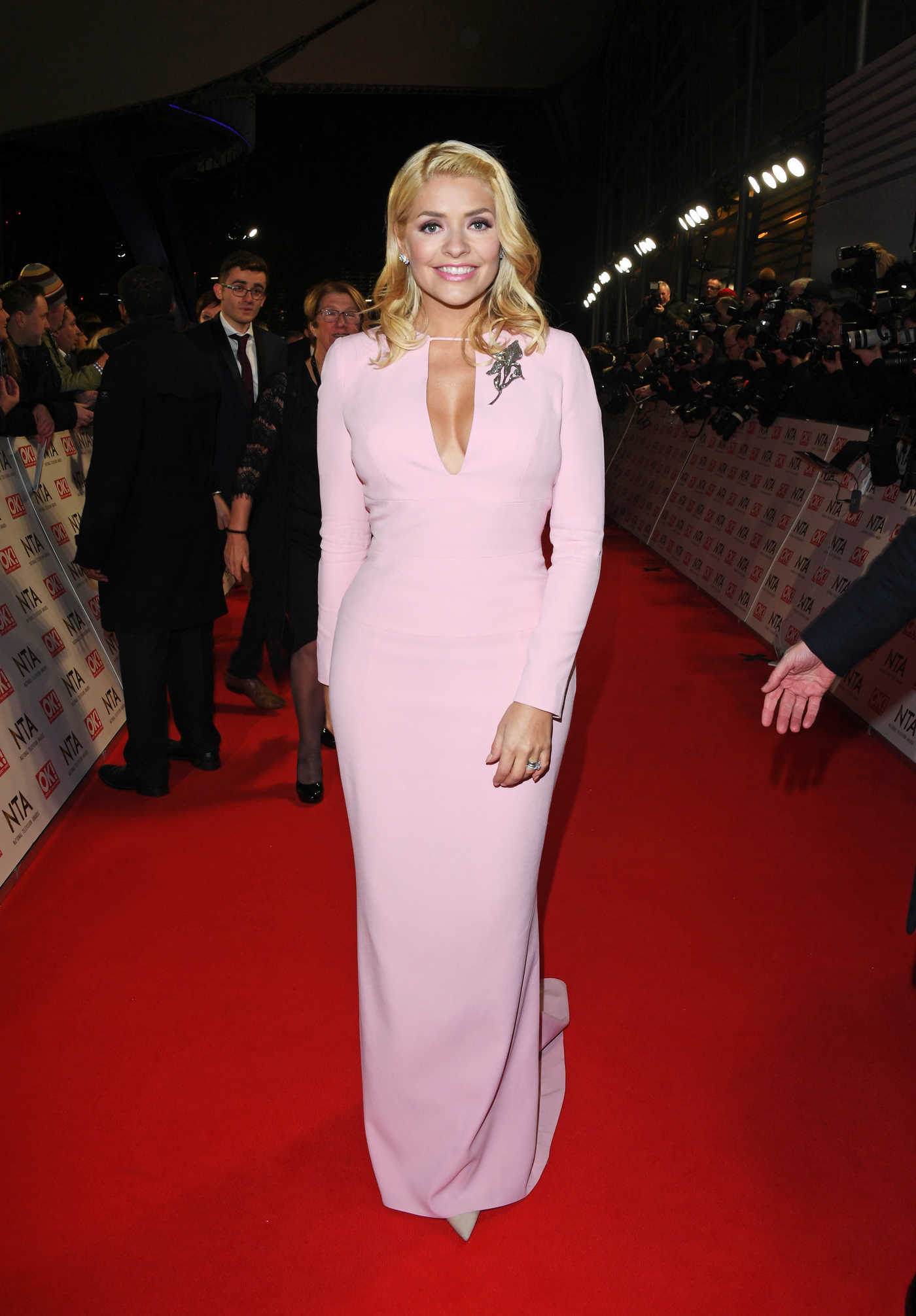 Holly Willoughby at the National Television Awards in London 01/25/2017