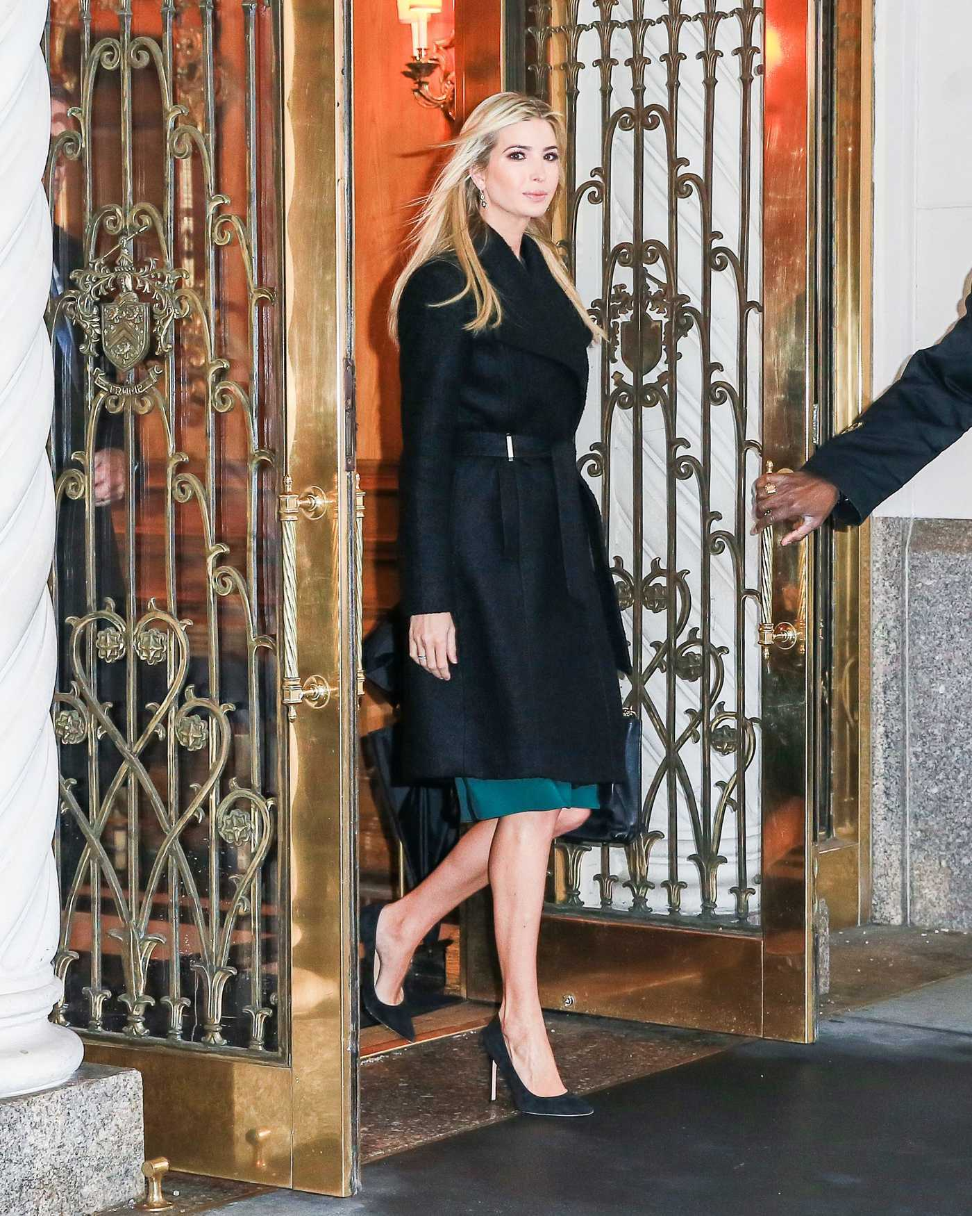 Ivanka Trump Was Seen Out in New York 01/11/2017