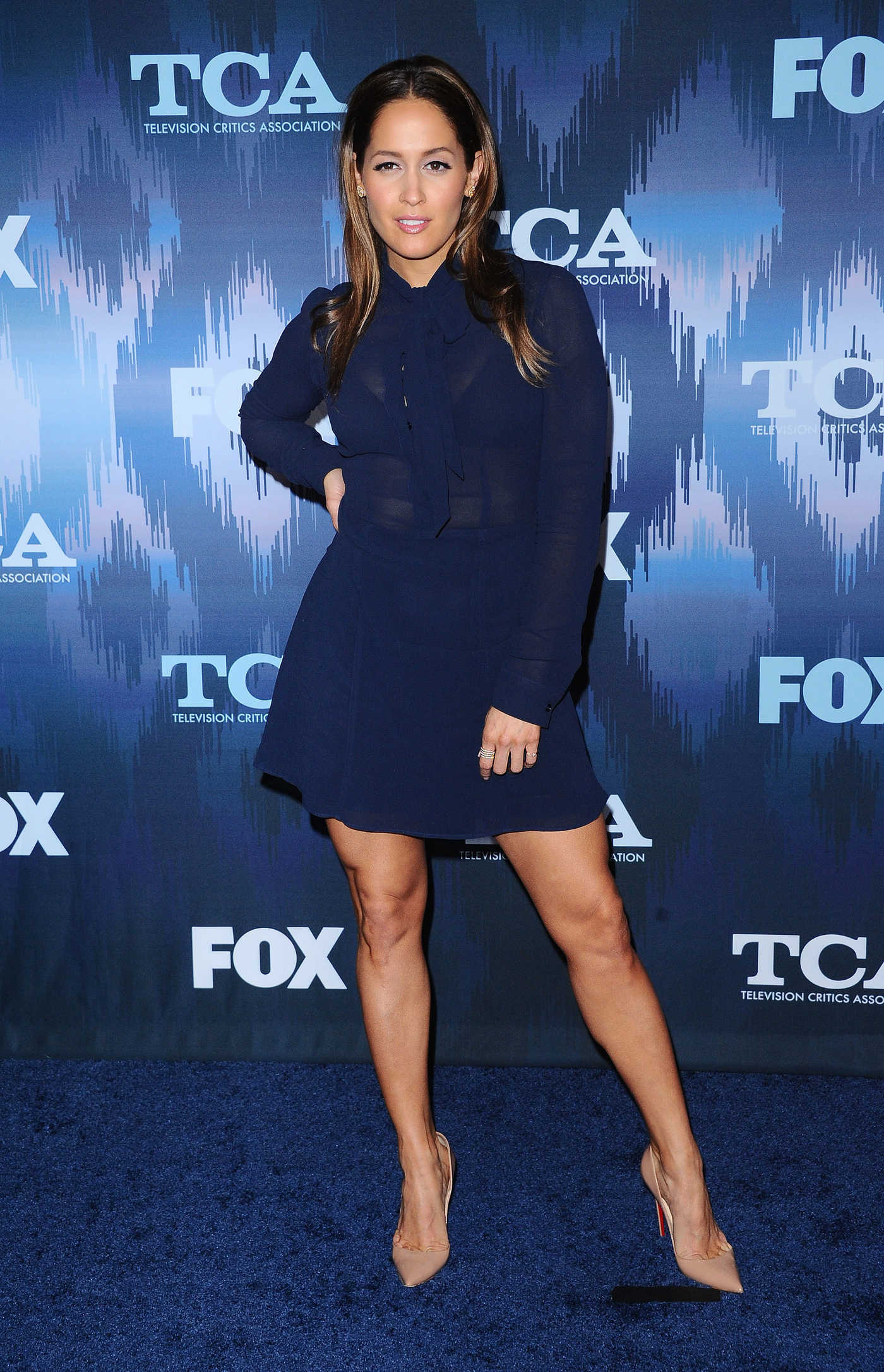 Jaina Lee Ortiz at the FOX All-Star Party During the 2017 Winter TCA Tour in Pasadena 01/11/2017
