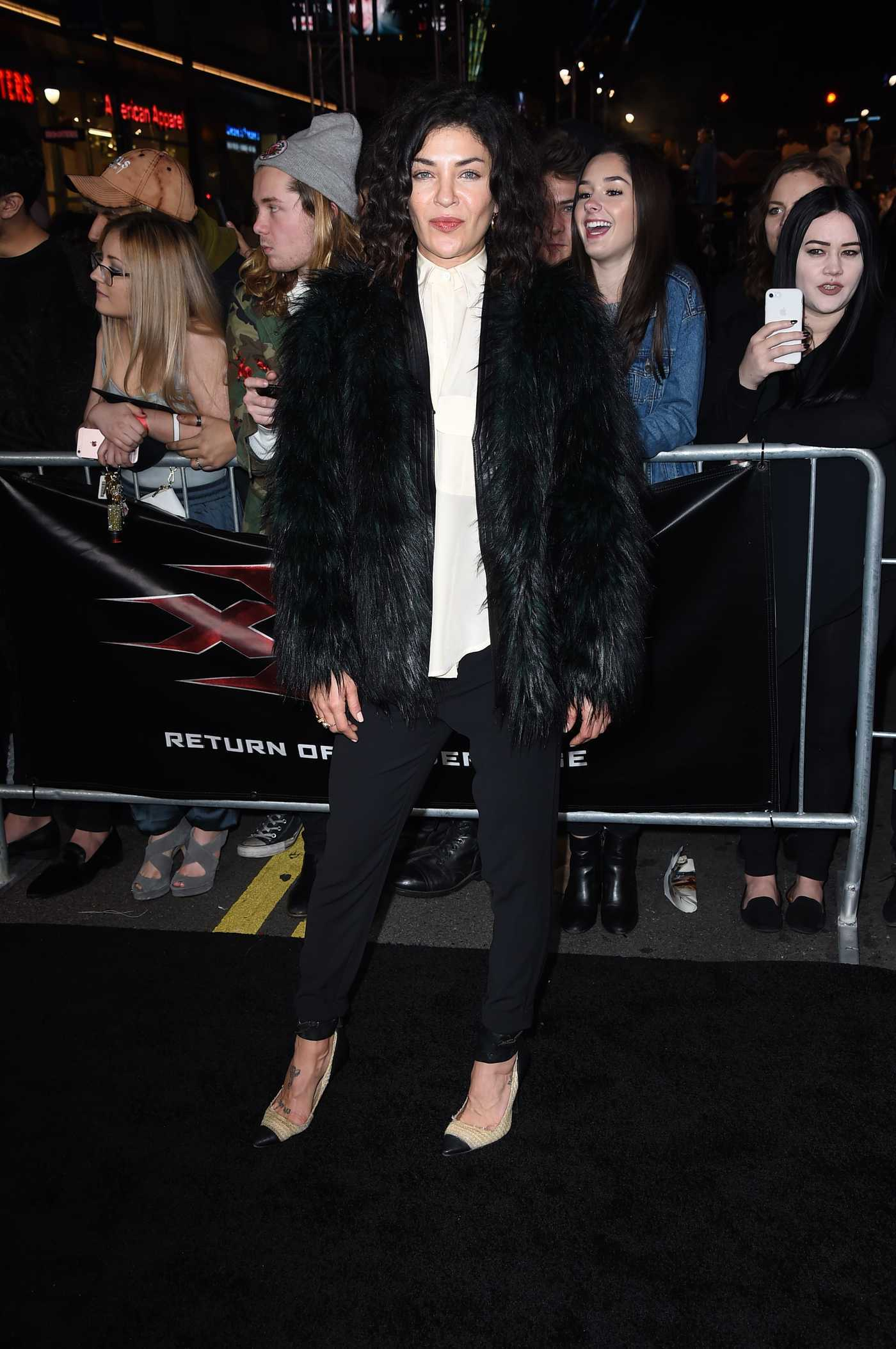 Jessica Szohr at the XXX: Return of Xander Cage Premiere at the TCL Chinese Theatre in Los Angeles 01/19/2017