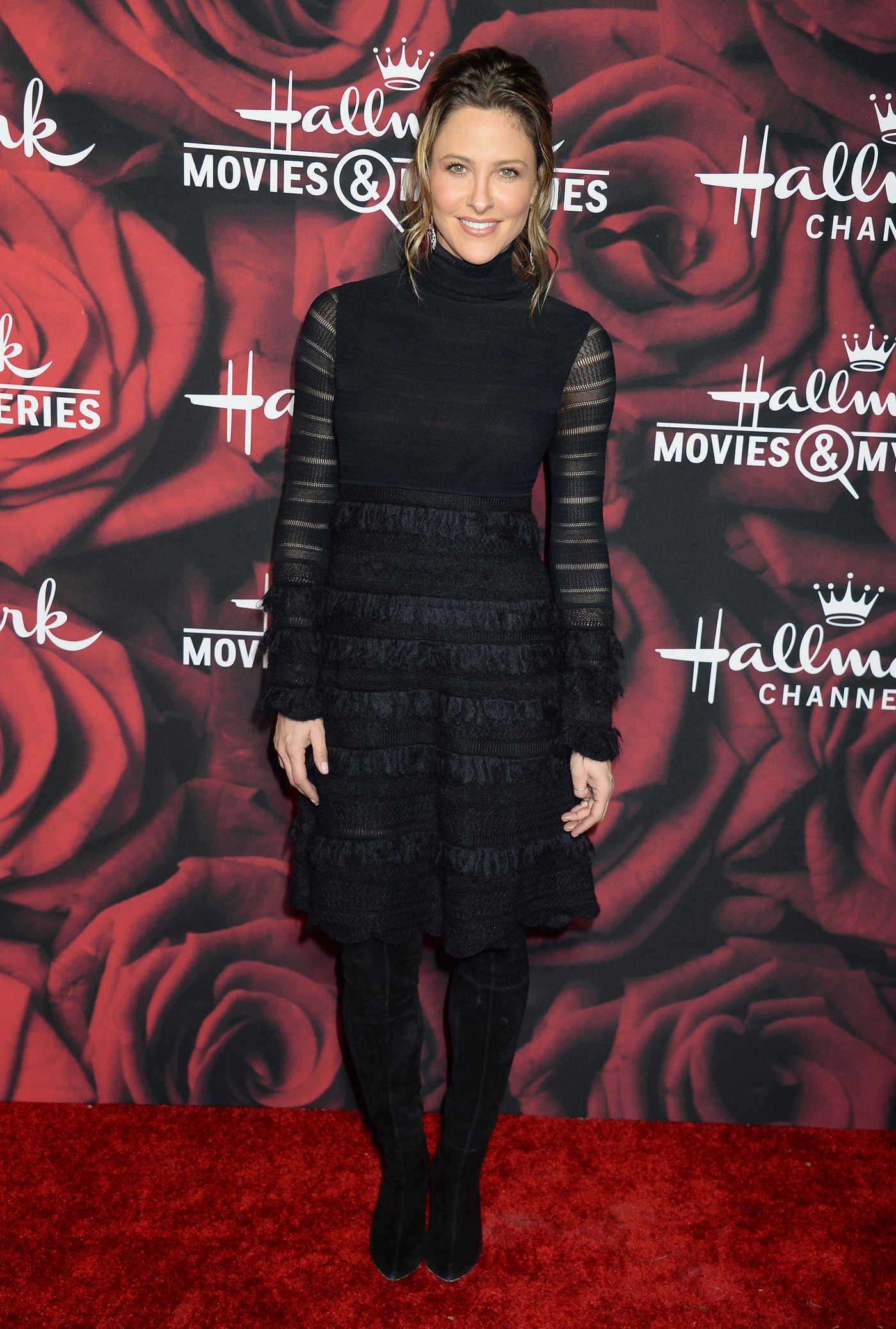 Jill Wagner at the Hallmark Channel TCA Winter Press Tour in Pasadena 01/14/2017